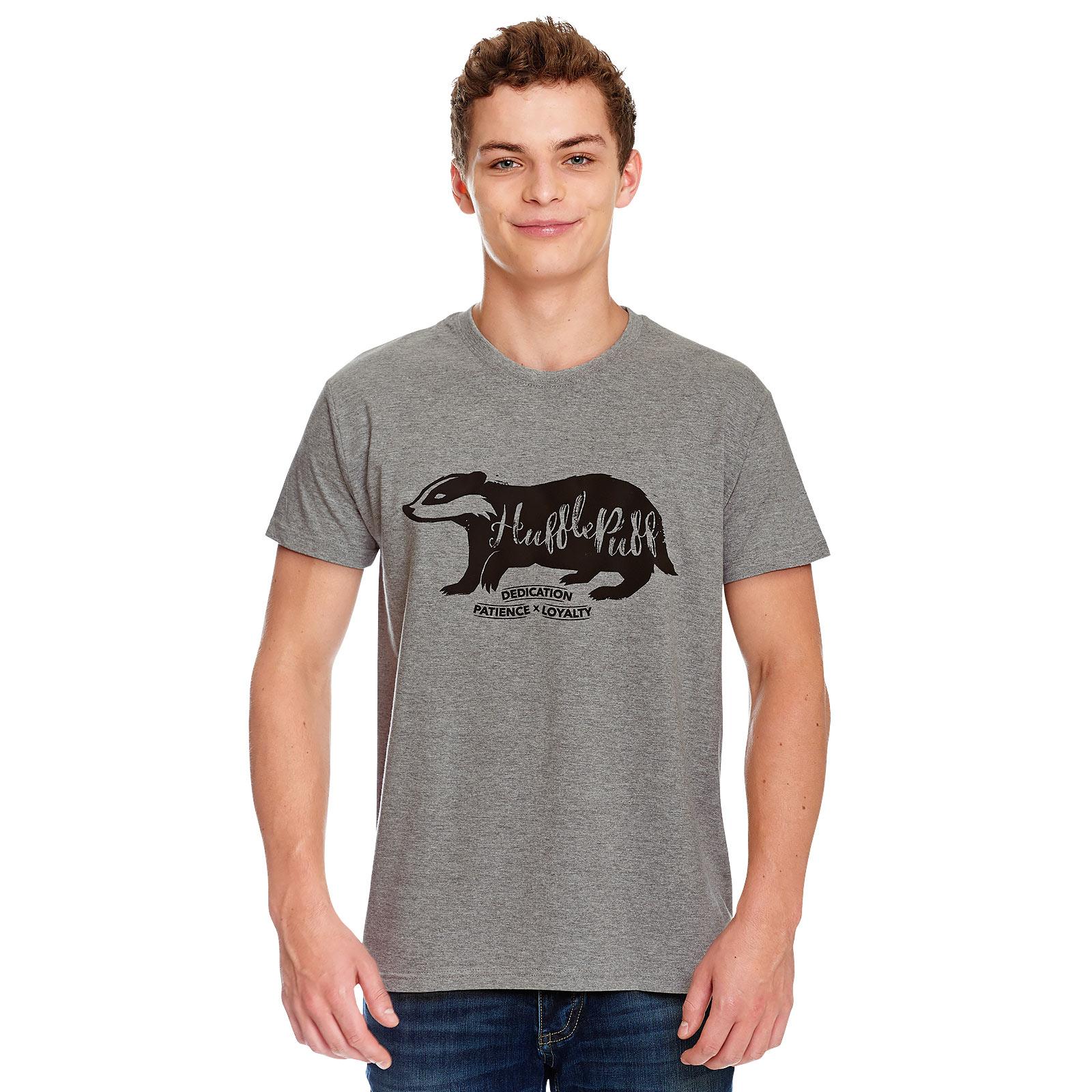 Harry Potter - Hufflepuff House Pride T-Shirt grau