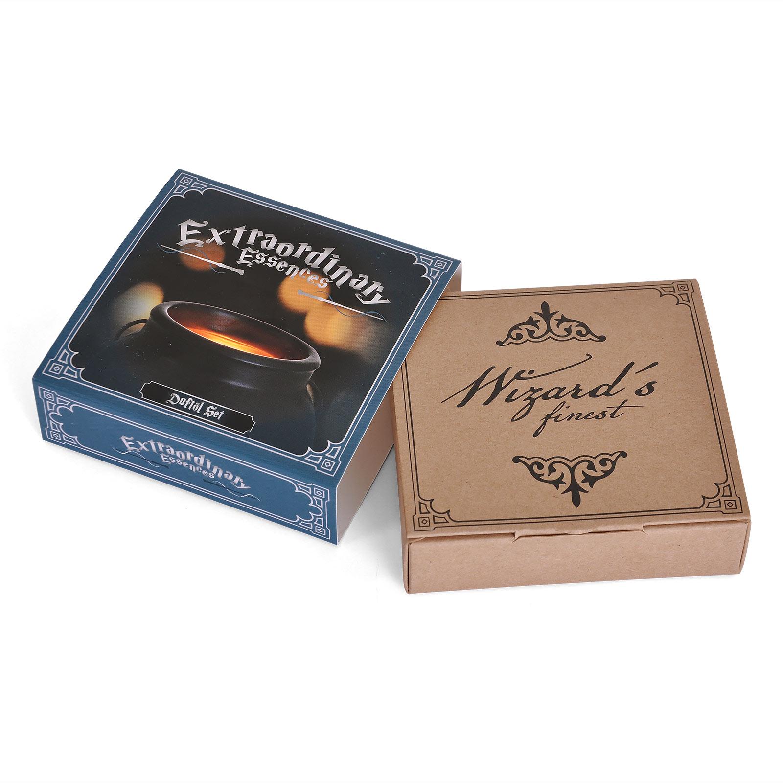 Zauberkessel mit Duftöl