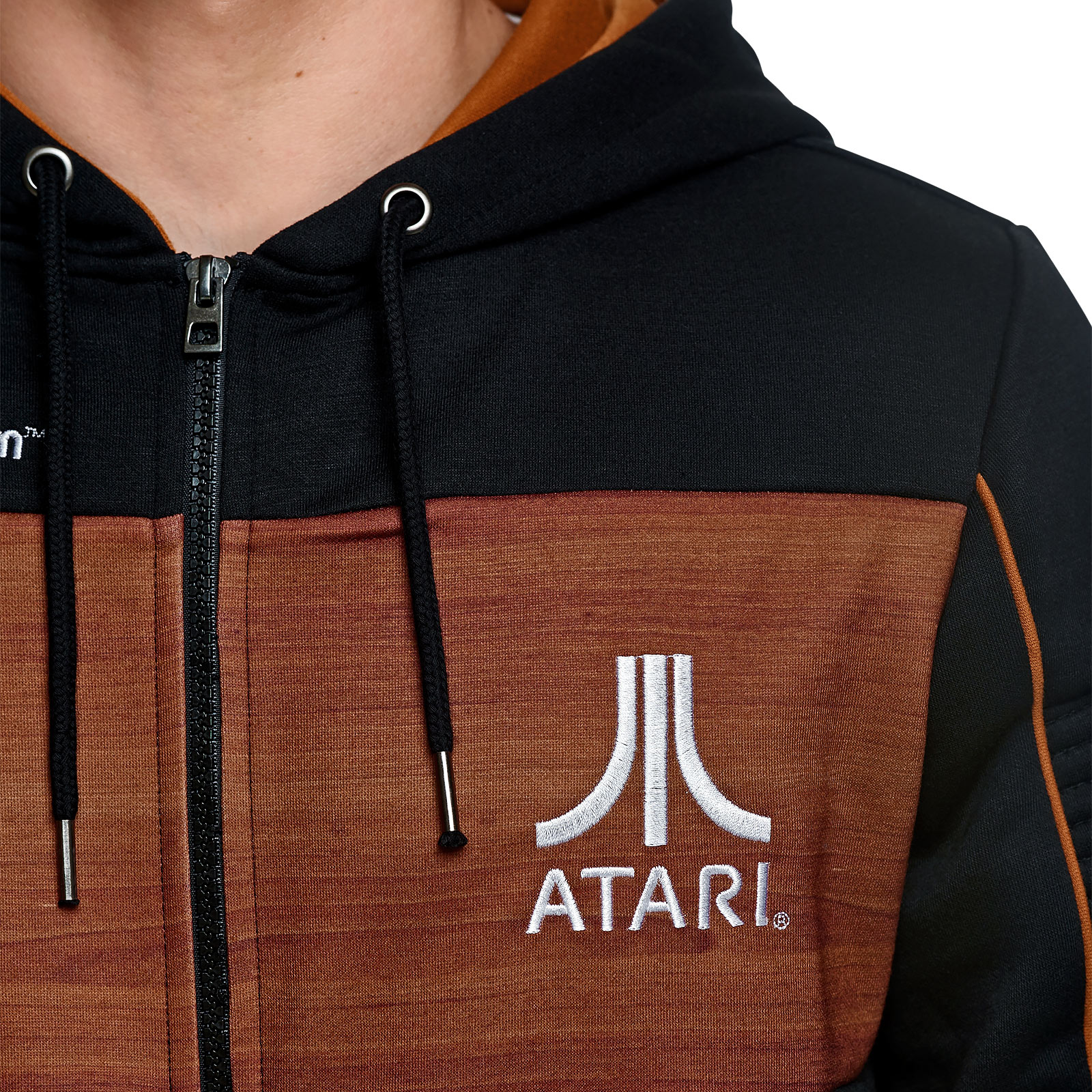Atari - 2600 Kapuzenjacke schwarz