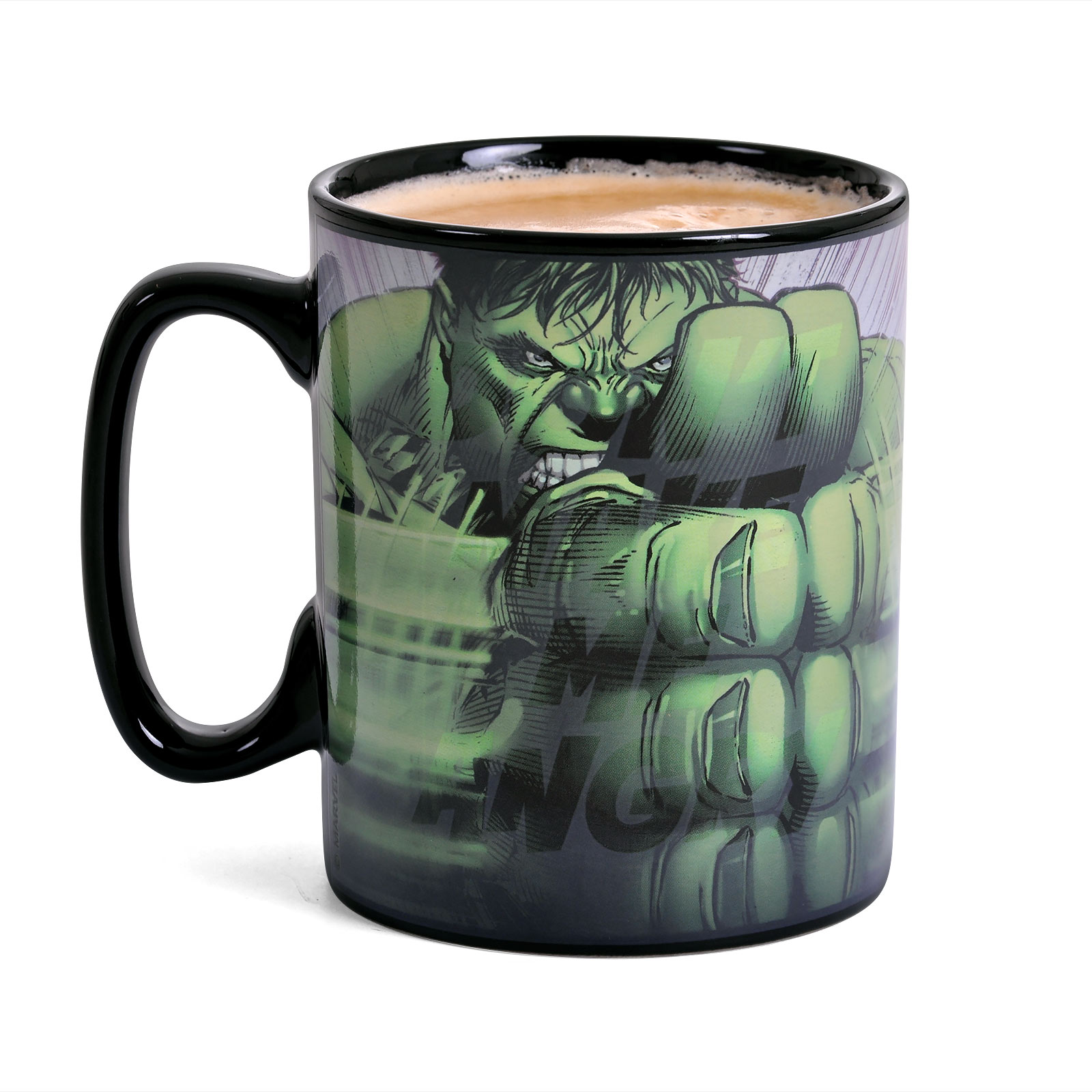 Hulk - Smash Thermoeffekt Tasse