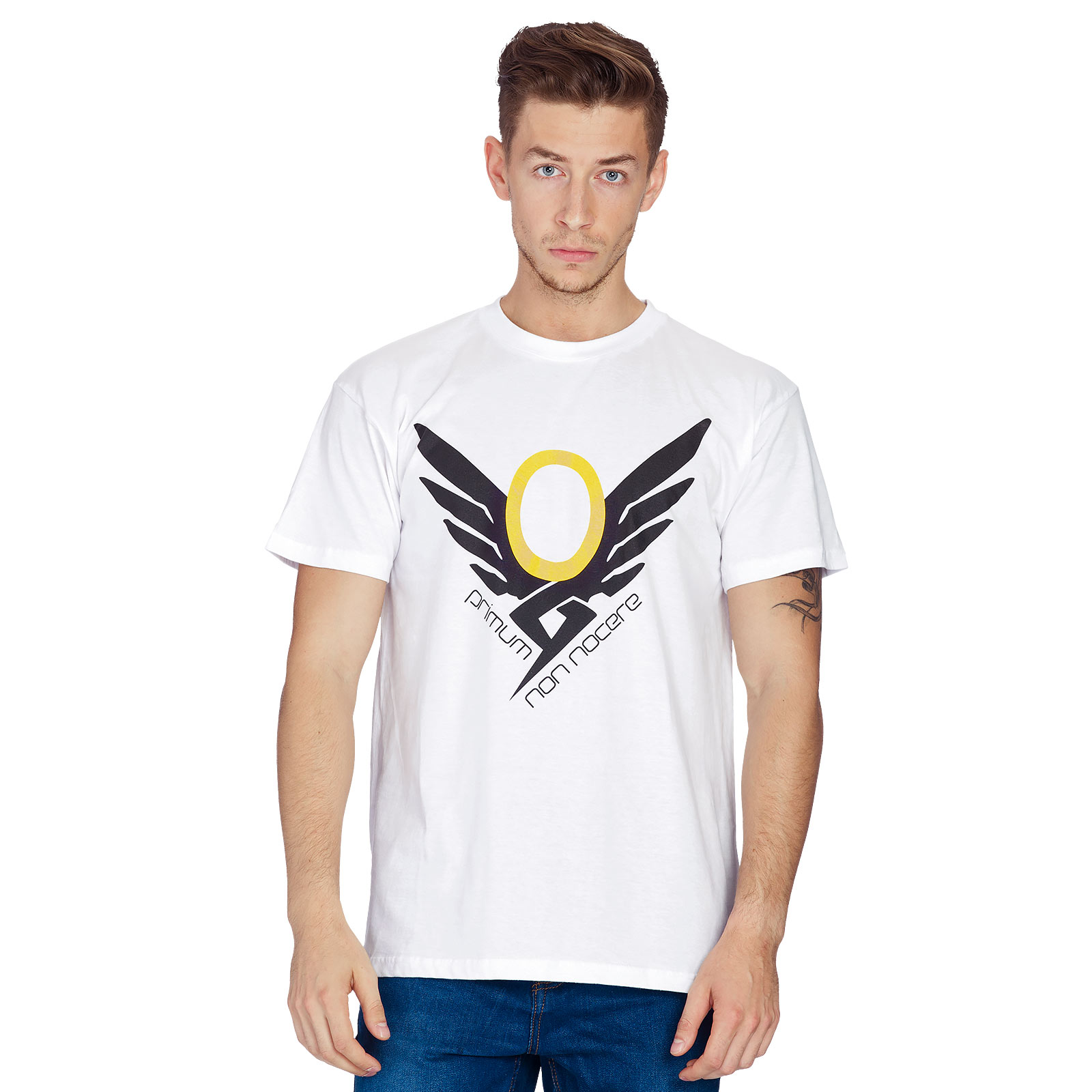 Overwatch - Mercy T-Shirt weiß