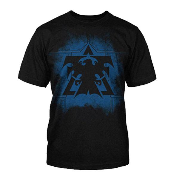 StarCraft II - Terran Plates Logo T-Shirt