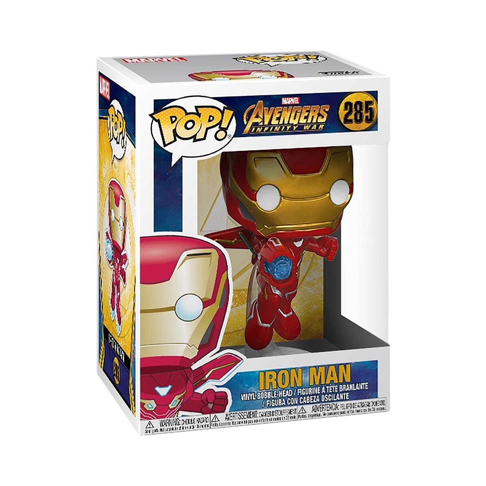 Avengers - Iron Man Infinity War Funko Pop Wackelkopf-Figur