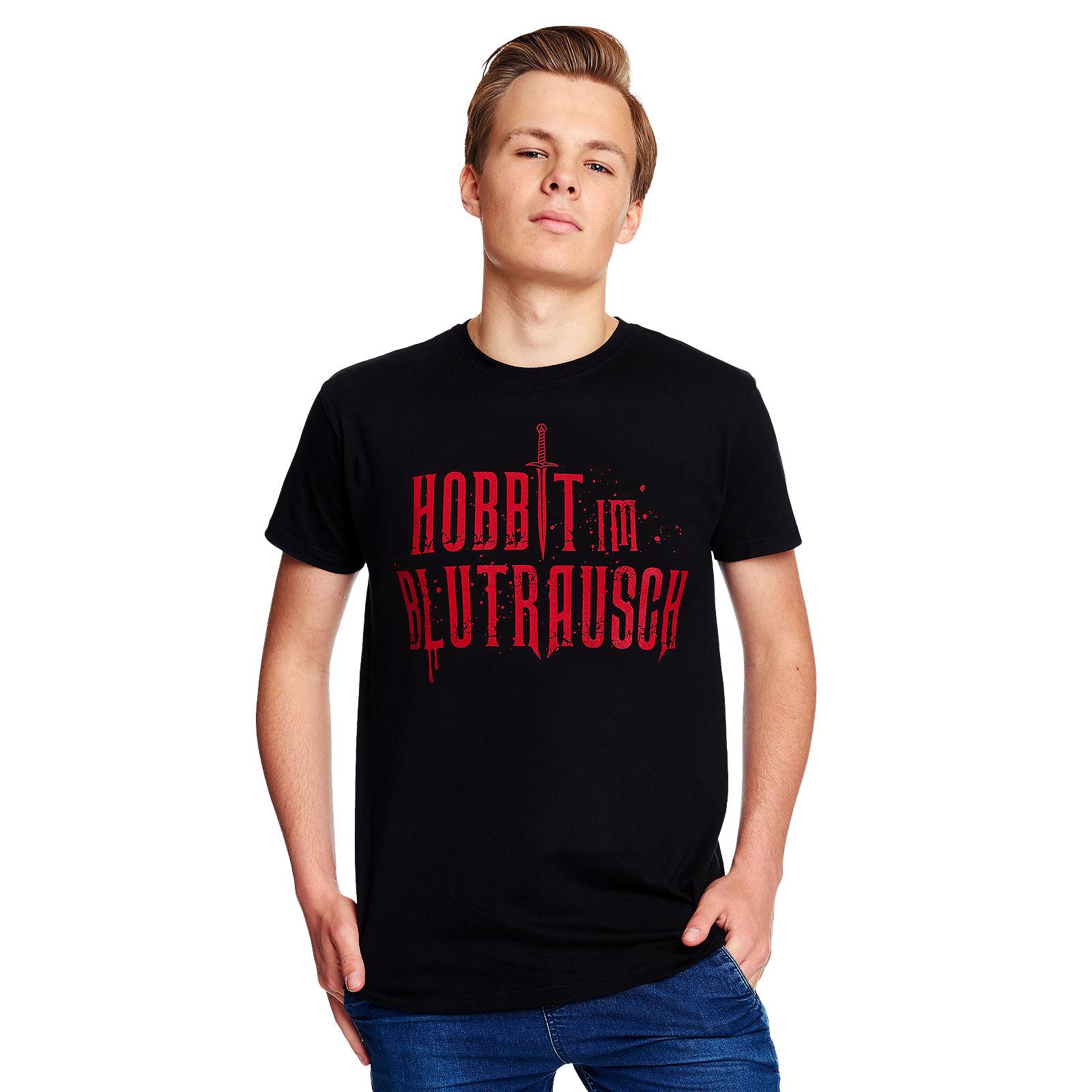 Blutrausch T-Shirt schwarz