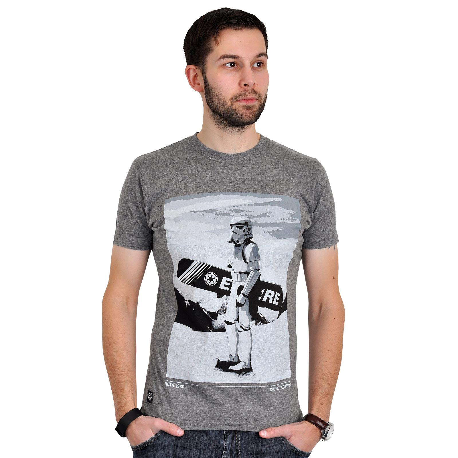 Star Wars - Snow Trooper T-Shirt grau