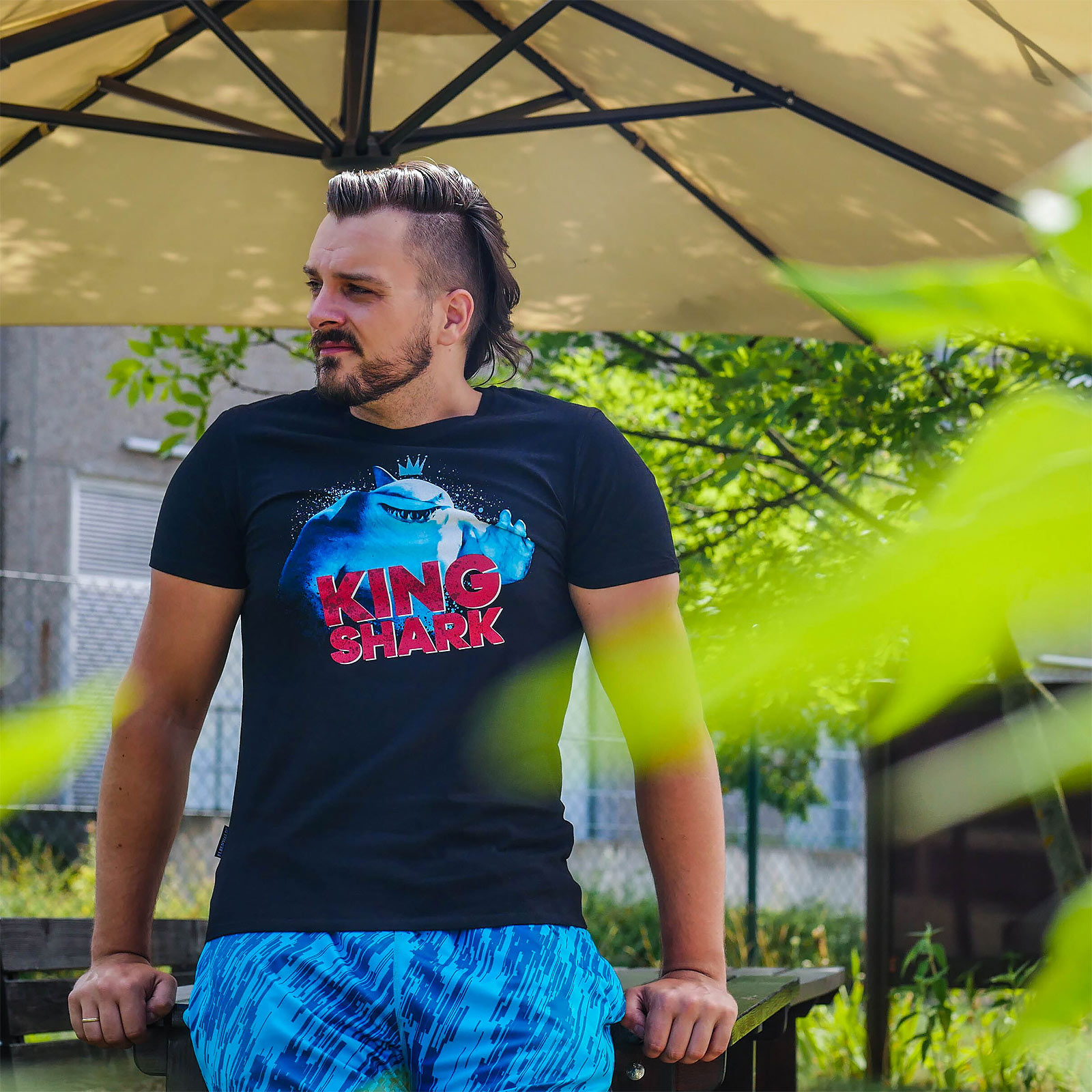 The Suicide Squad - King Shark T-Shirt schwarz