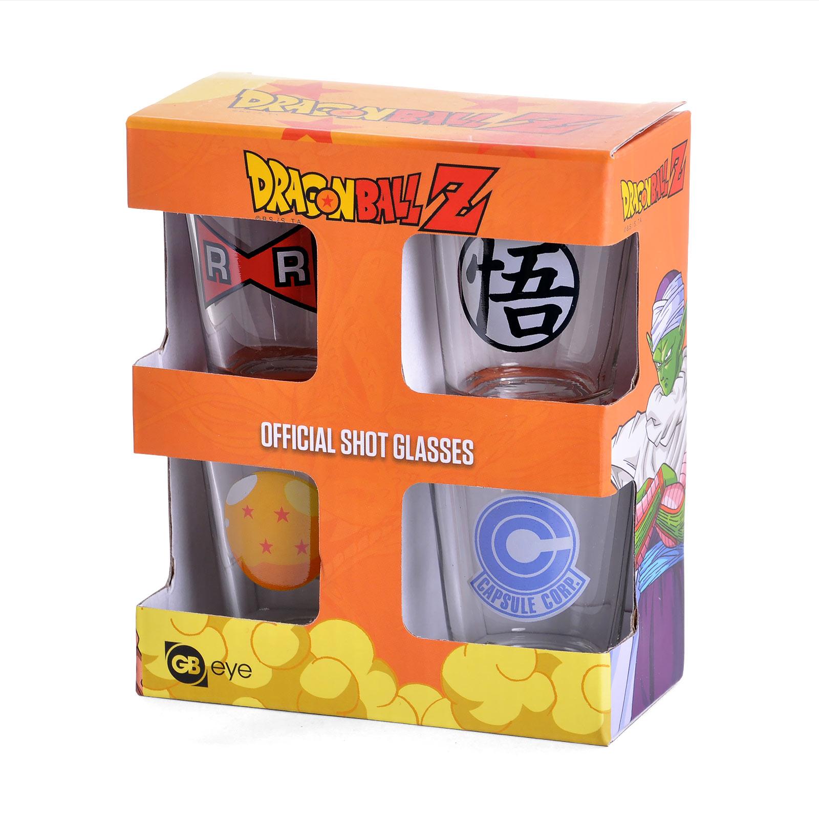 Dragon Ball Z - Symbol Gläserset