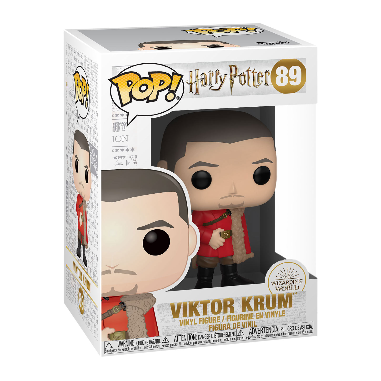 Harry Potter - Viktor Krum Yule Ball Funko Pop Figur