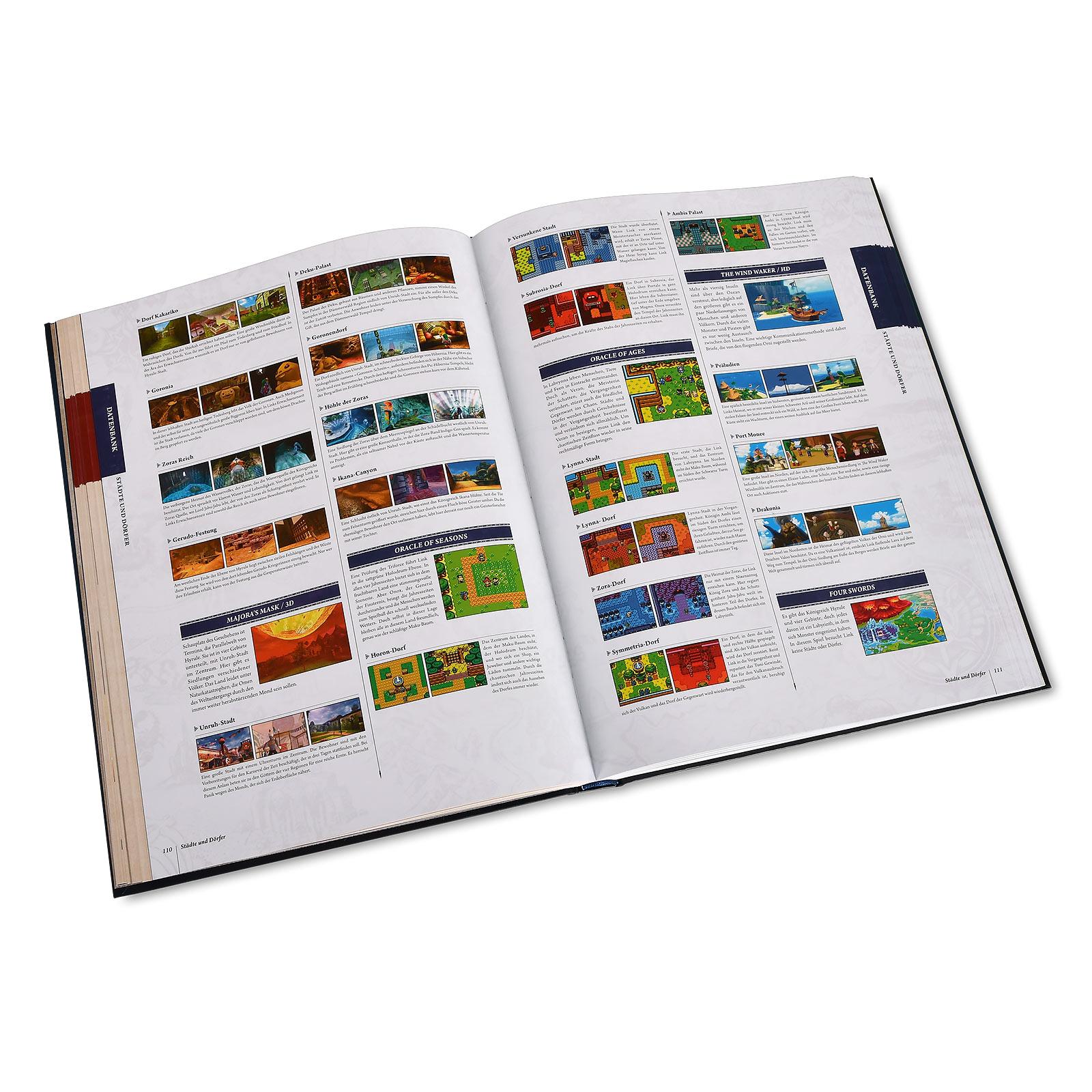 Zelda - Enzyklopädie Gebundene Ausgabe