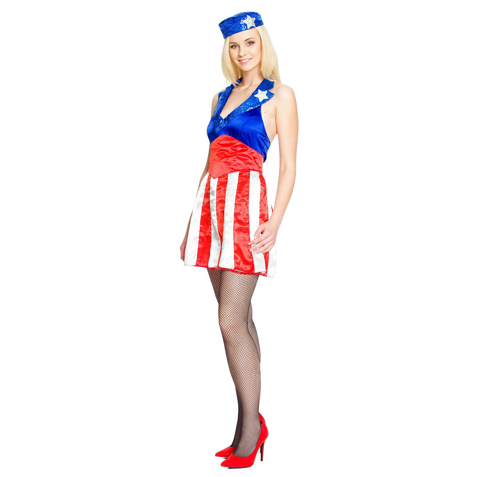 Sexy Miss America Kostüm