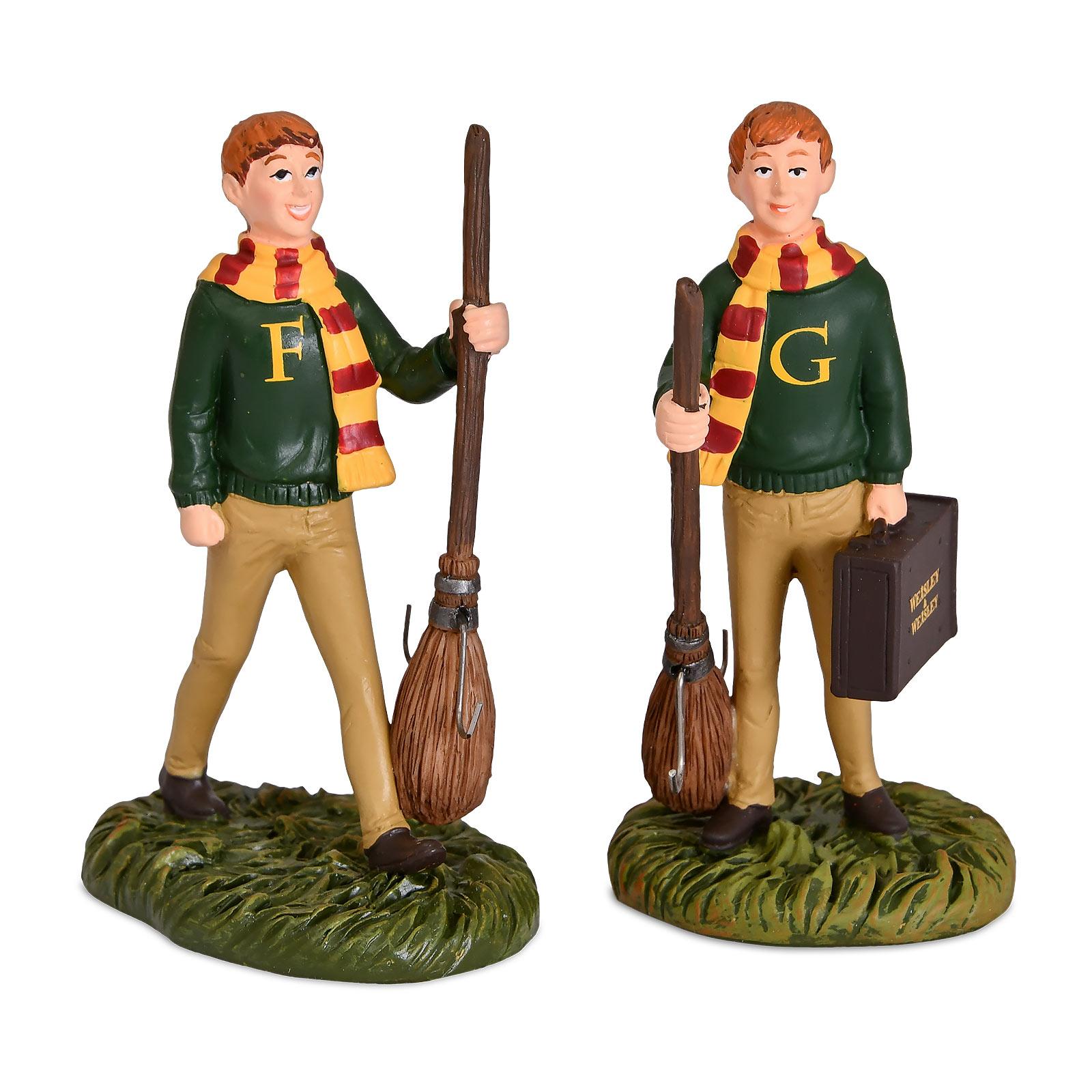 Harry Potter - Fred und George Weasley Figuren Set