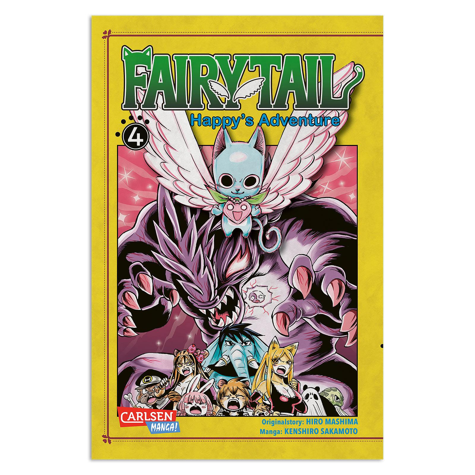 Fairy Tail - Happy's Adventure Band 4 Taschenbuch