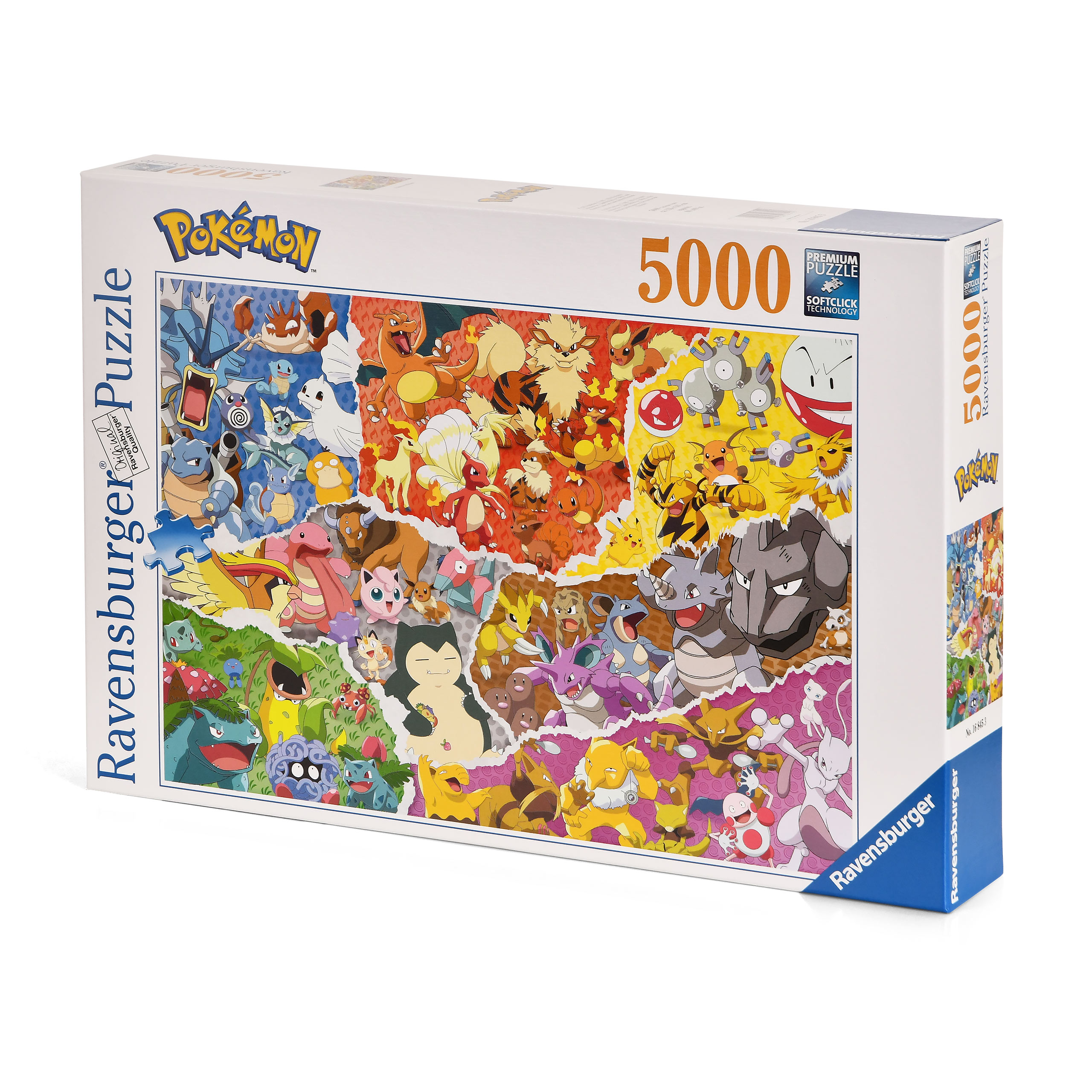Pokemon - Allstars Puzzle 5000 Teile