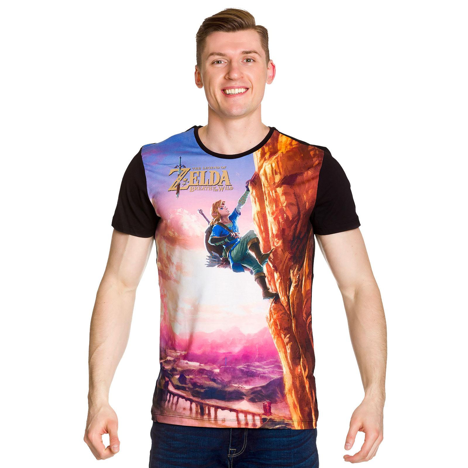 Zelda - Breath of the Wild Link Full Size T-Shirt