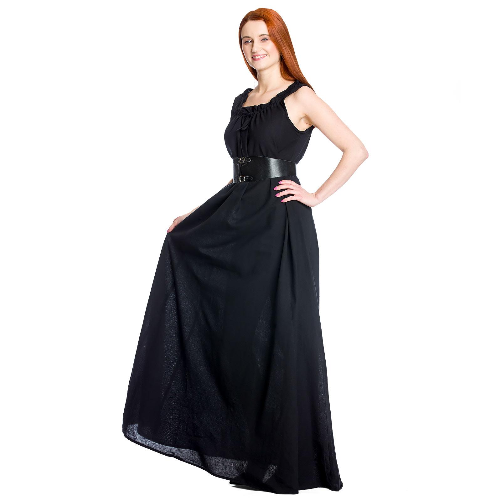 Mittelalter Überkleid Ella schwarz