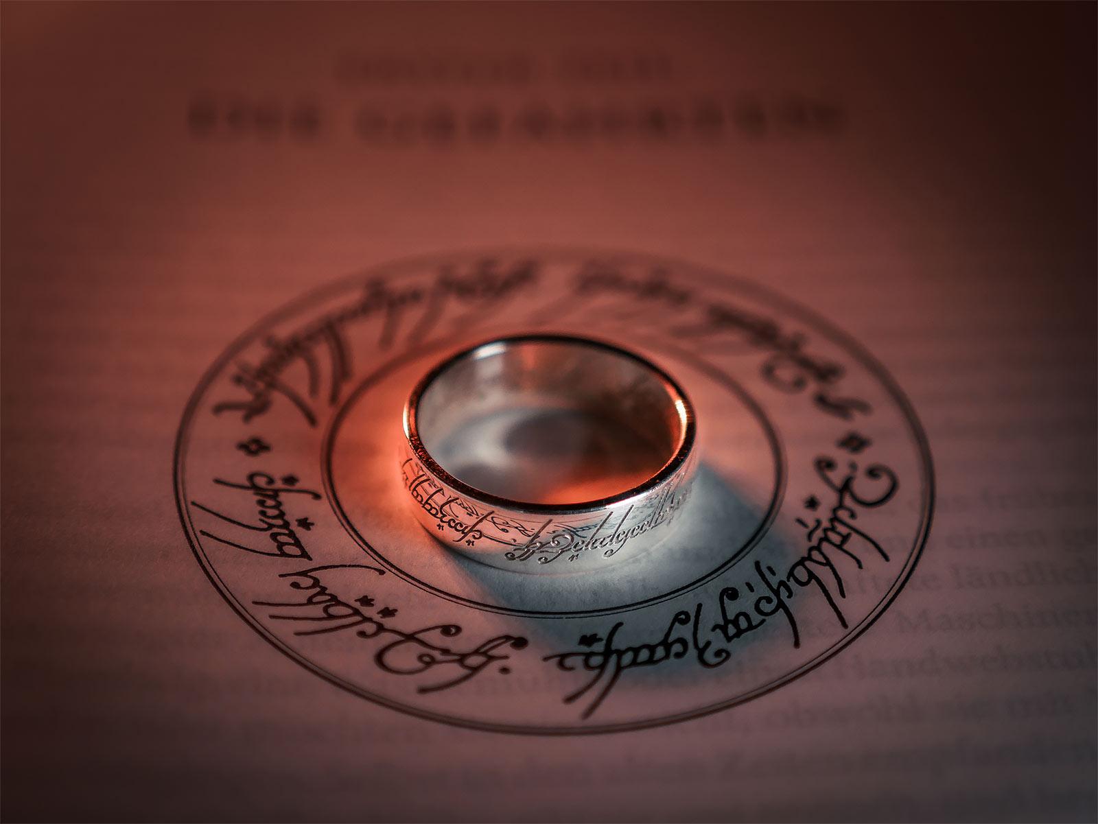 Der Herr der Ringe - Ring Silber
