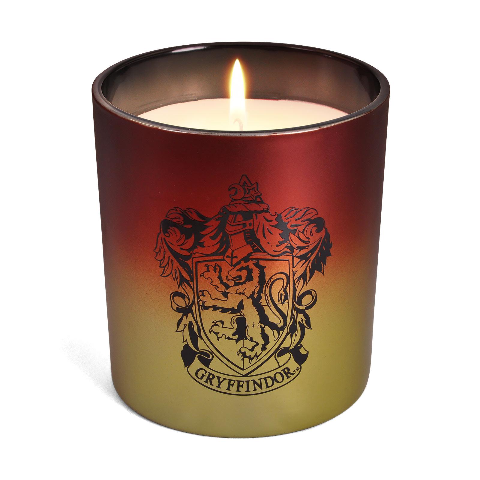 Harry Potter - Gryffindor Wappen Kerze im Glas