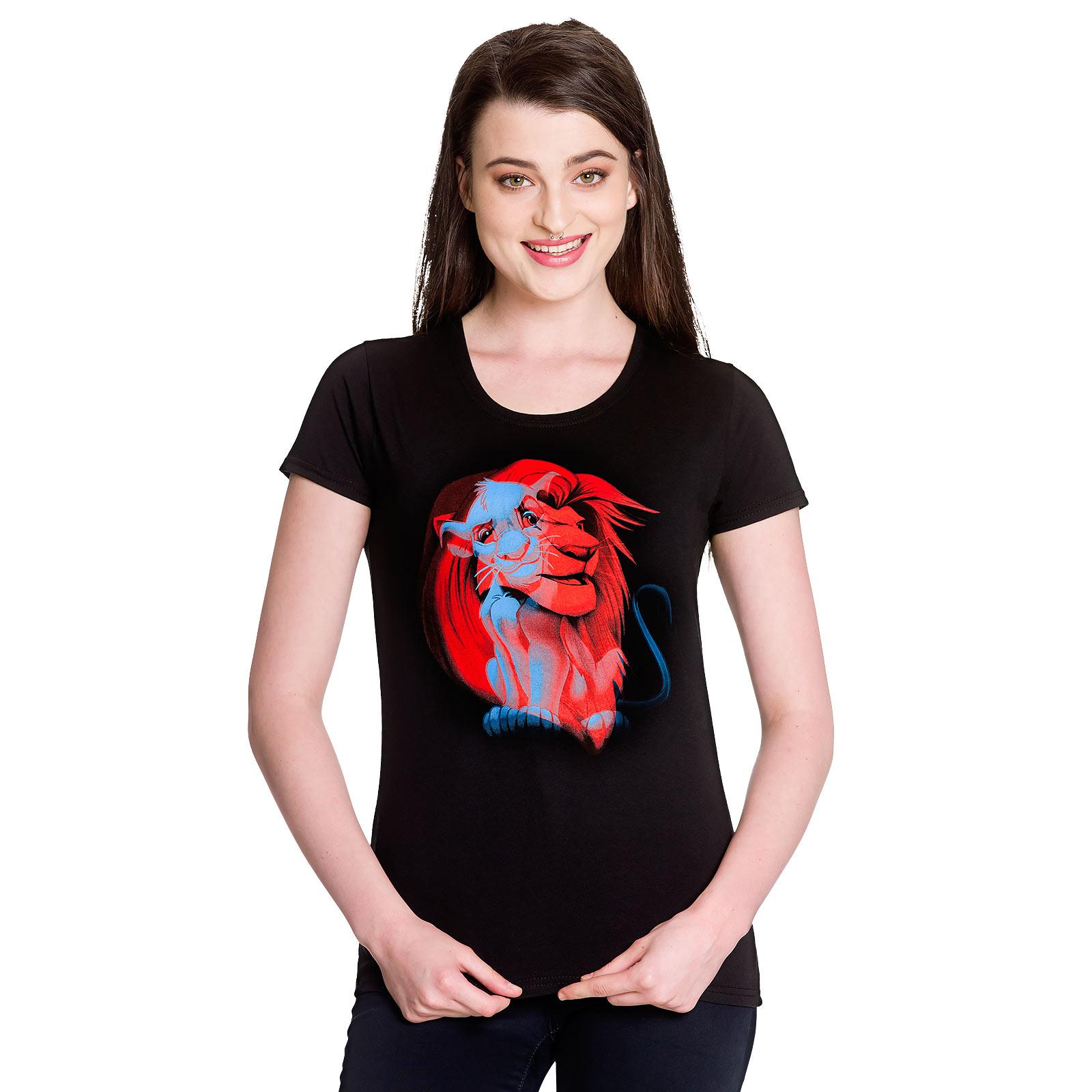 König der Löwen - Simba T-Shirt Damen