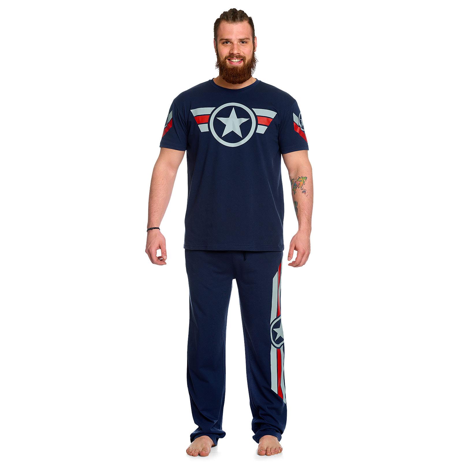 Captain America - Soldier Pyjama Herren