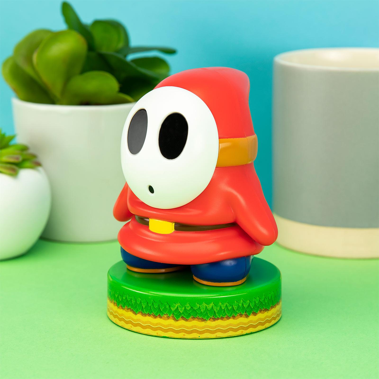 Super Mario - Shy Guy Icons 3D Tischlampe