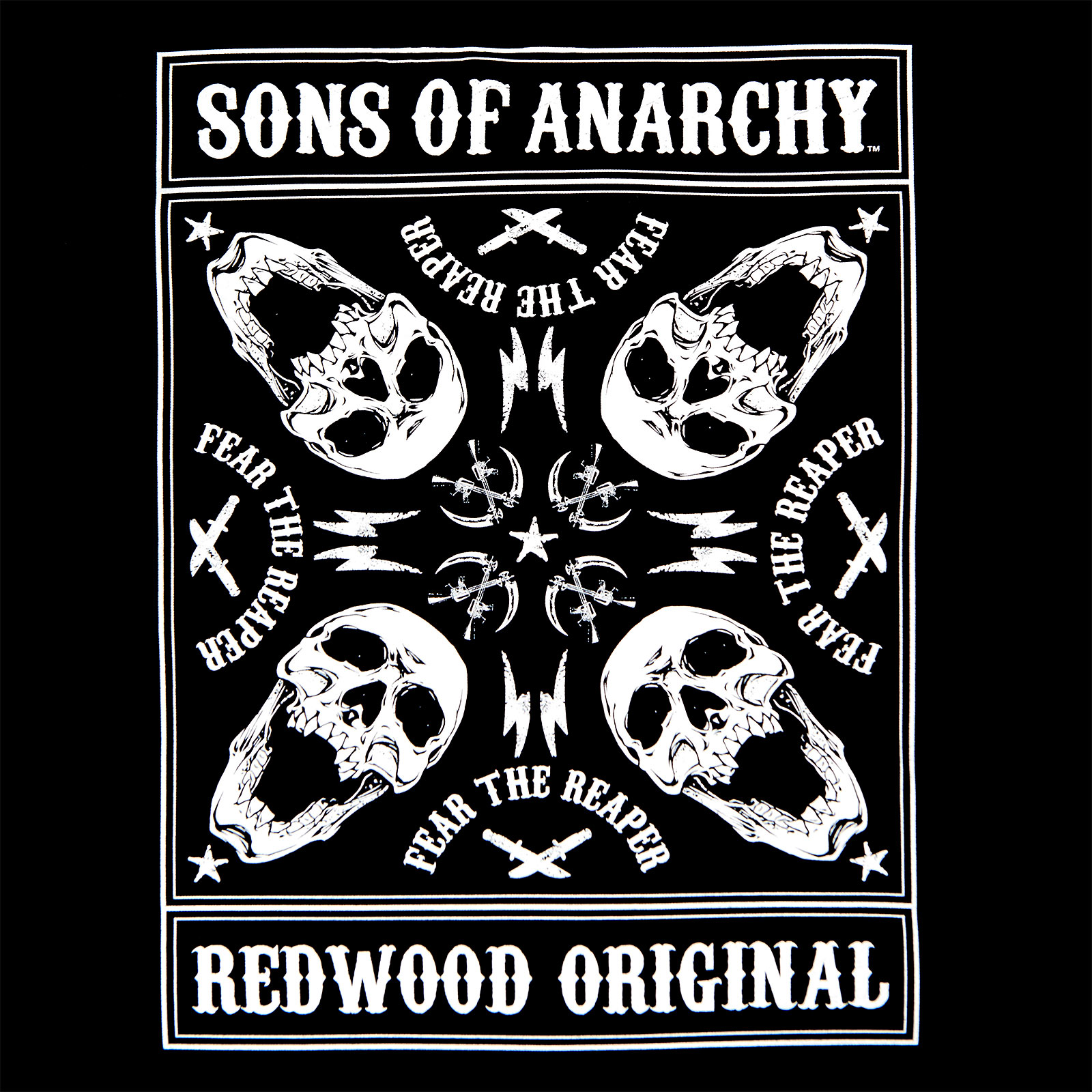 Sons of Anarchy - Fear the Reaper T-Shirt schwarz