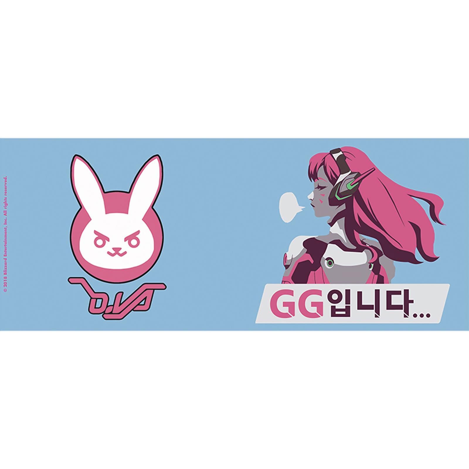 Overwatch - D.VA mit Bunny Icon Tasse