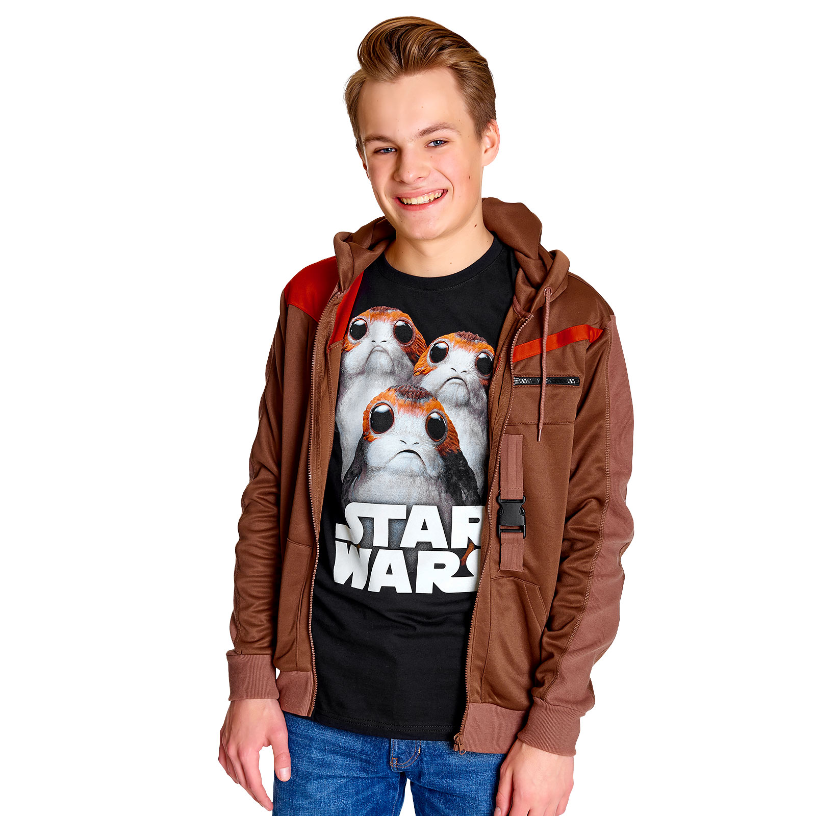 Star Wars - Finn Kapuzenjacke braun