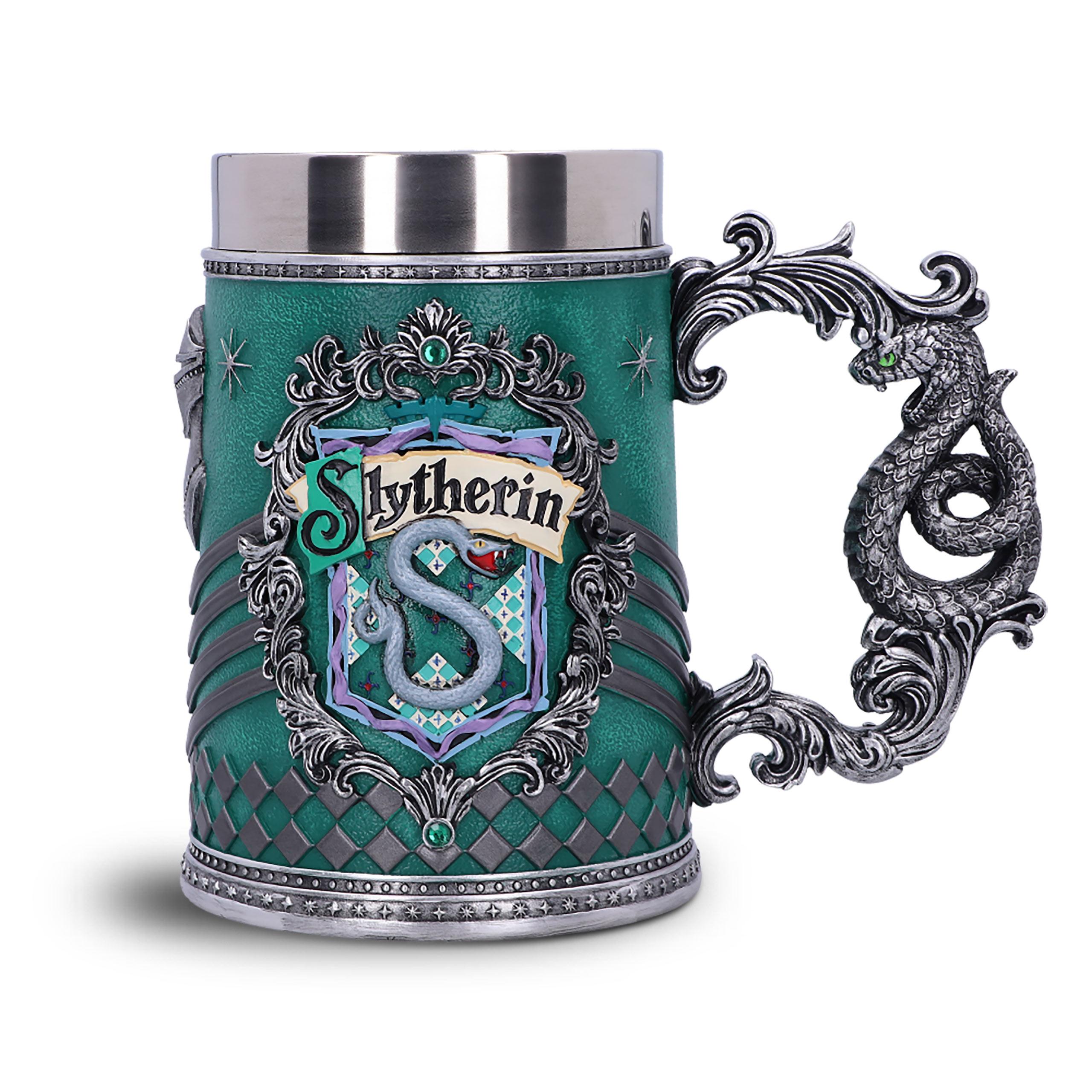 Harry Potter - Slytherin Logo Krug deluxe