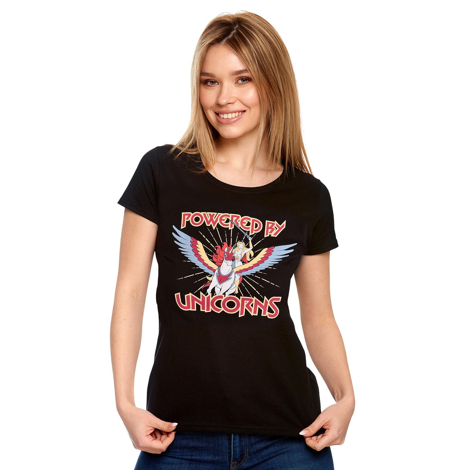 Masters of the Universe - She-Ra Powered by Unicorns T-Shirt Damen
