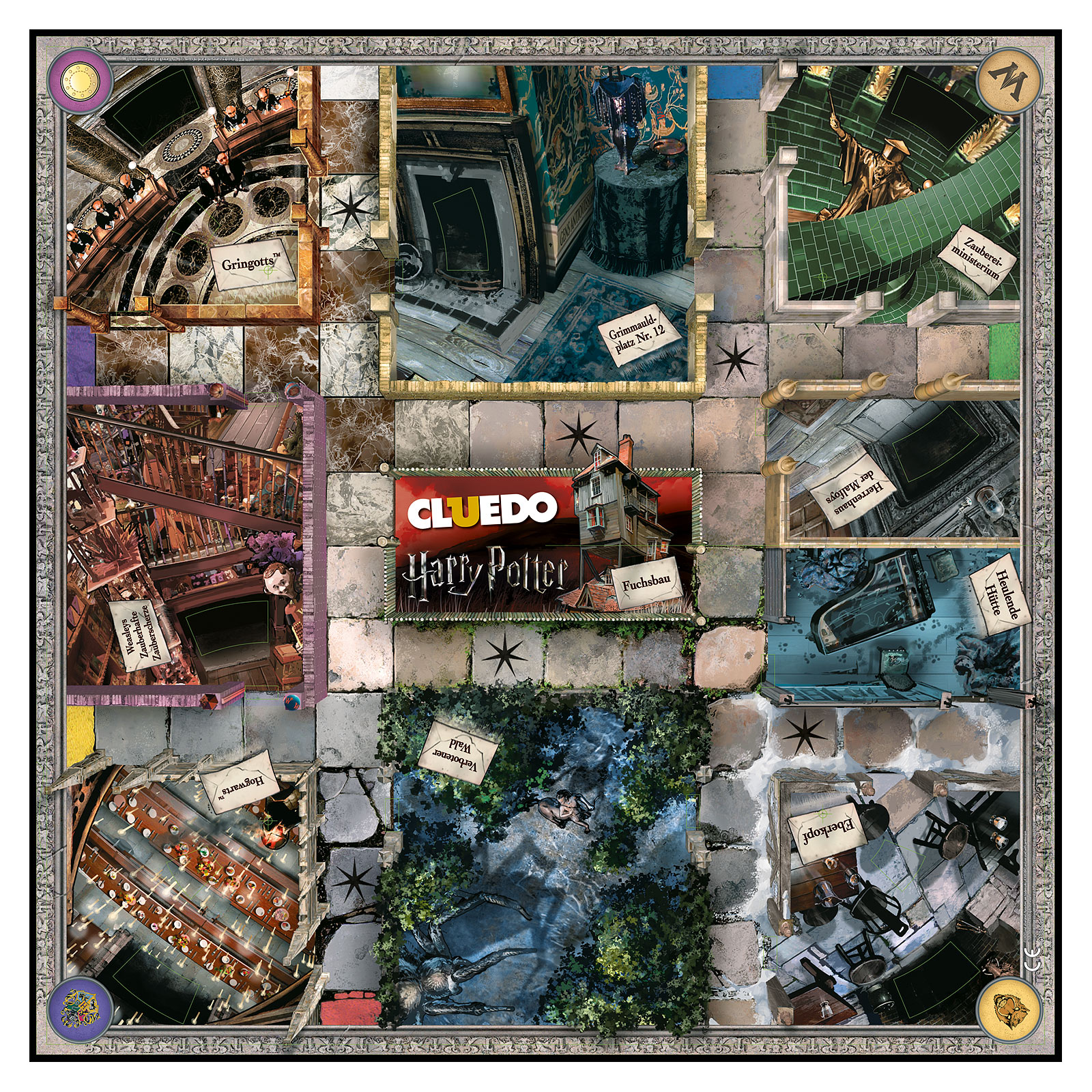 Harry Potter - Cluedo Collectors Edition