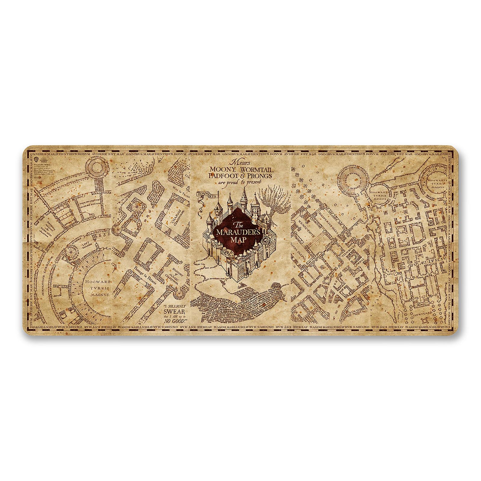 Harry Potter - Karte des Rumtreibers Mousepad
