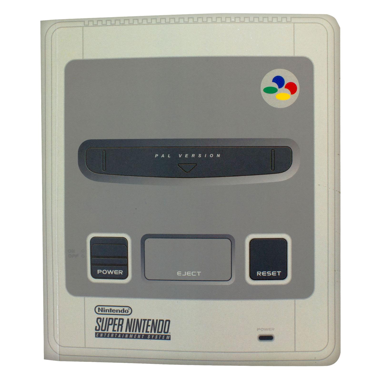 Nintendo - SNES Notizbuch