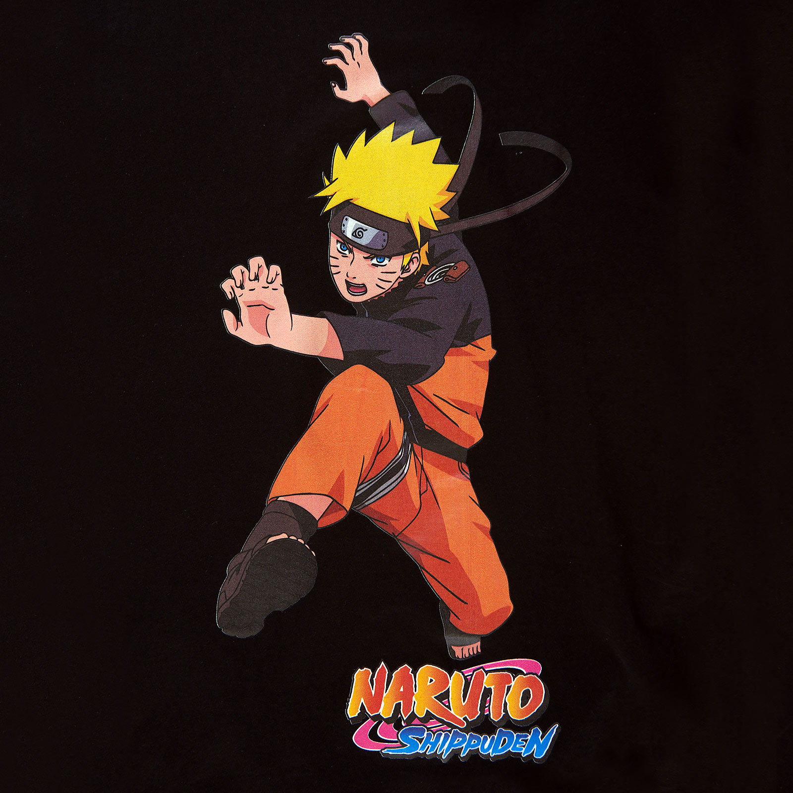 Naruto Character T-Shirt schwarz