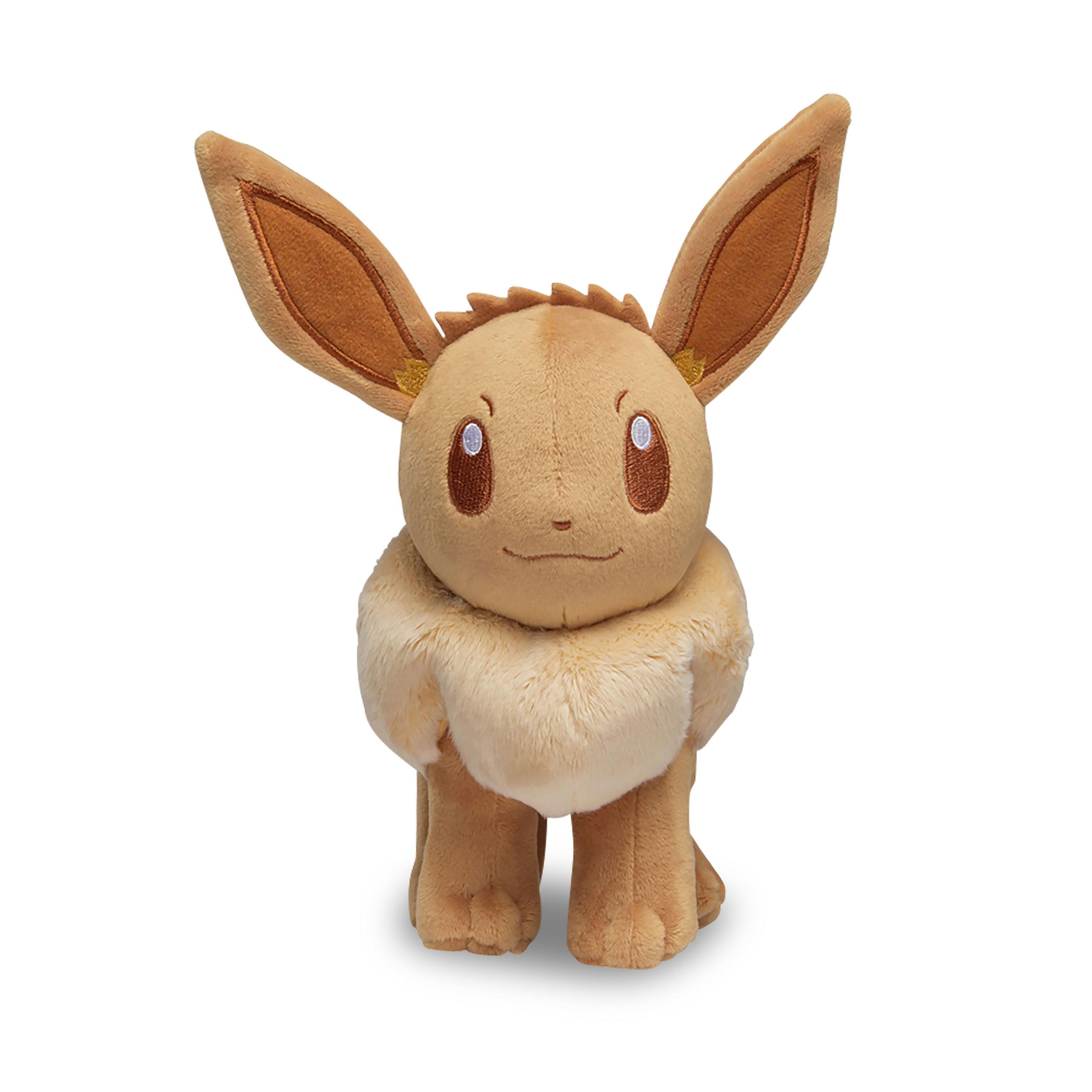 Pokemon - Evoli Monochrom Plüsch Figur 22 cm