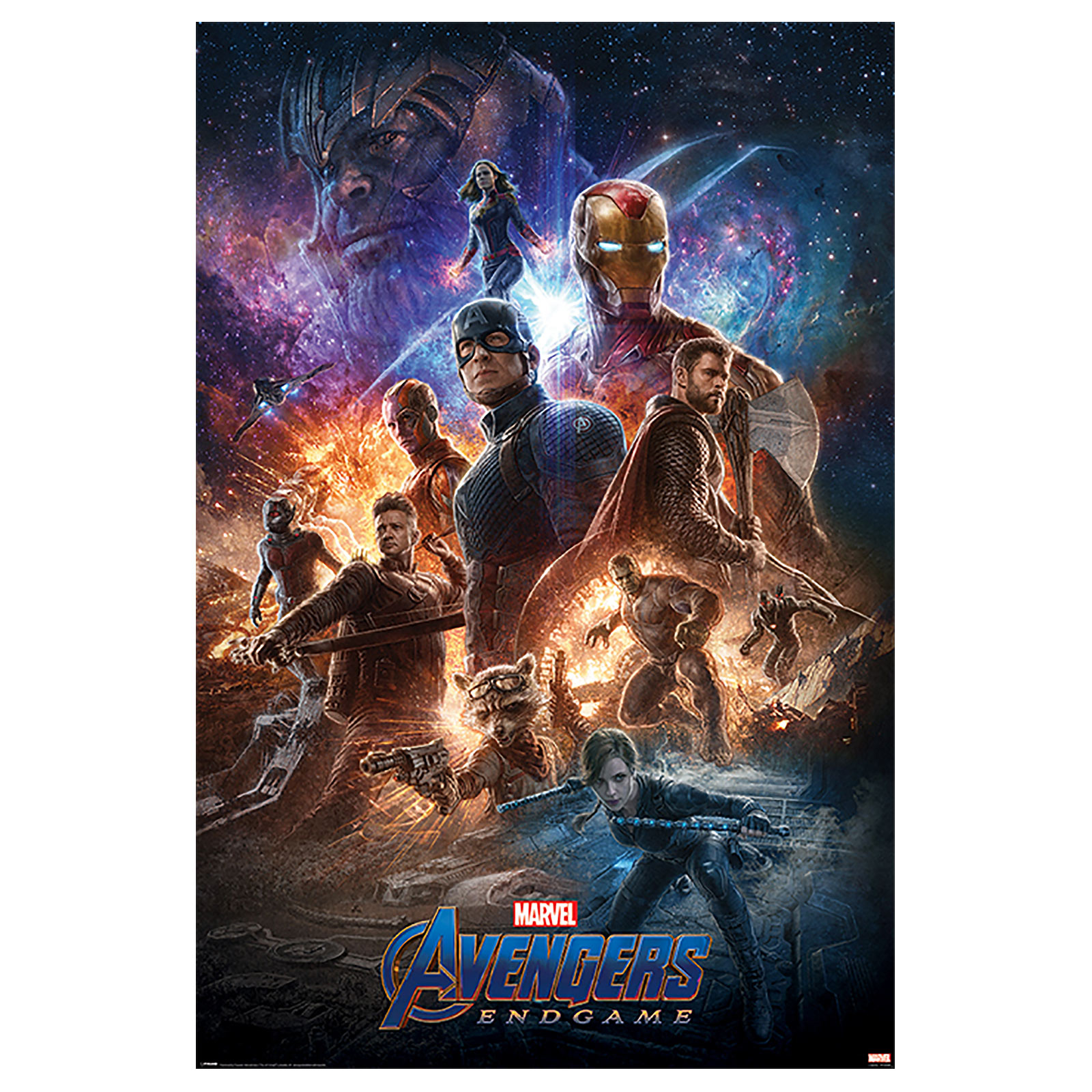 Avengers - Endgame From the Ashes Maxi Poster