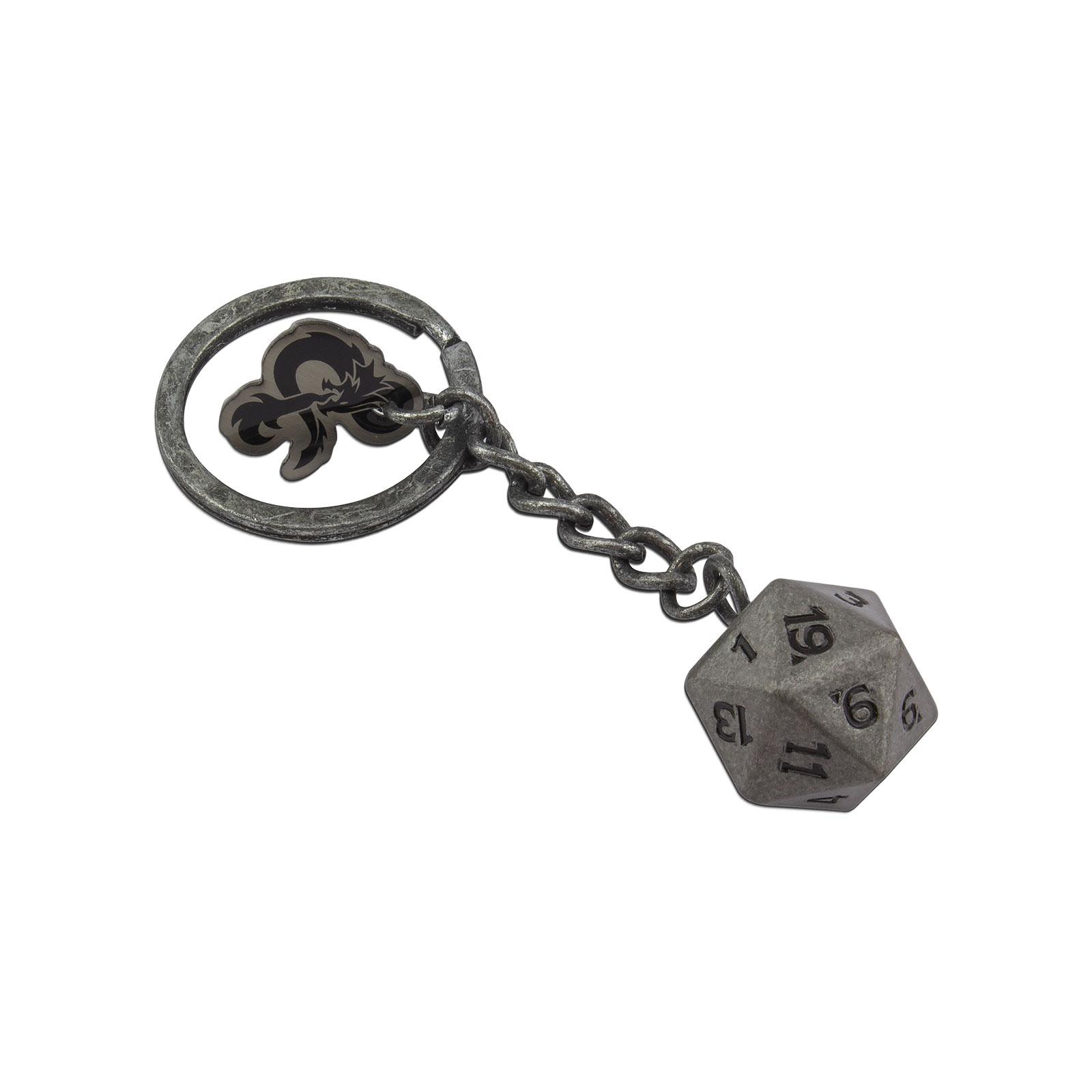 Dungeons & Dragons - D20 Würfel Schlüsselanhänger
