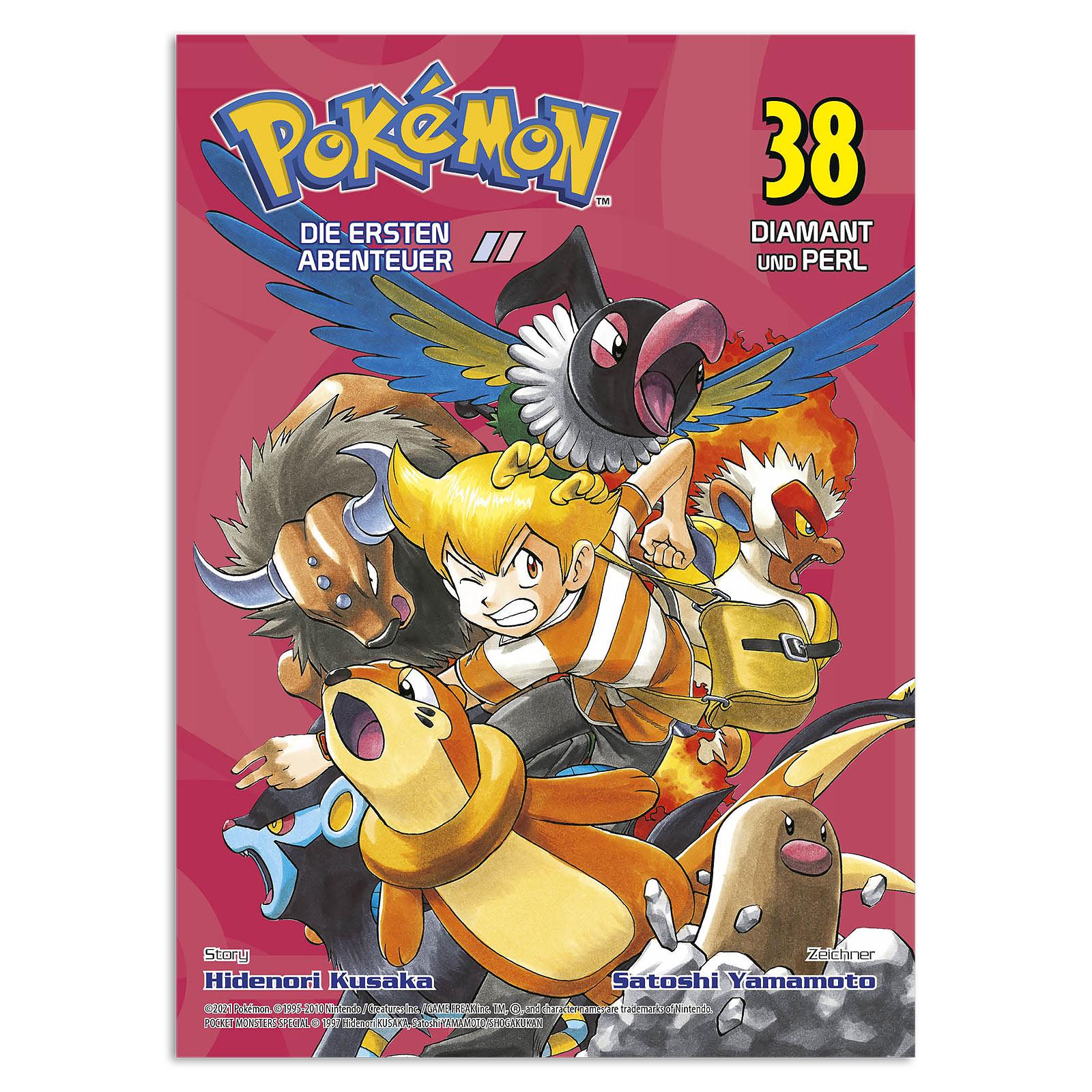 Pokémon - Die ersten Abenteuer Band 38 Taschenbuch