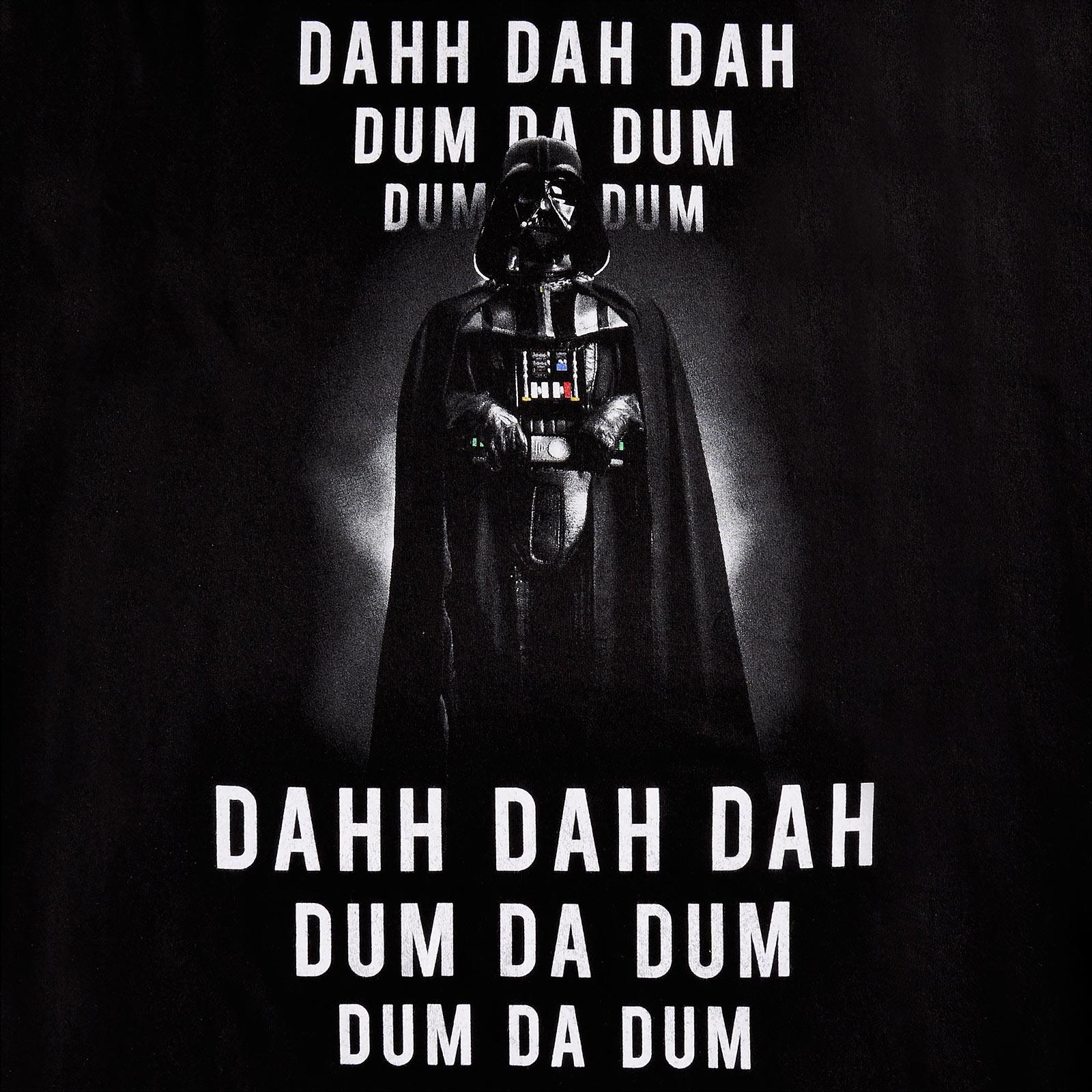 Star Wars - Darth Vader Imperial March T-Shirt schwarz