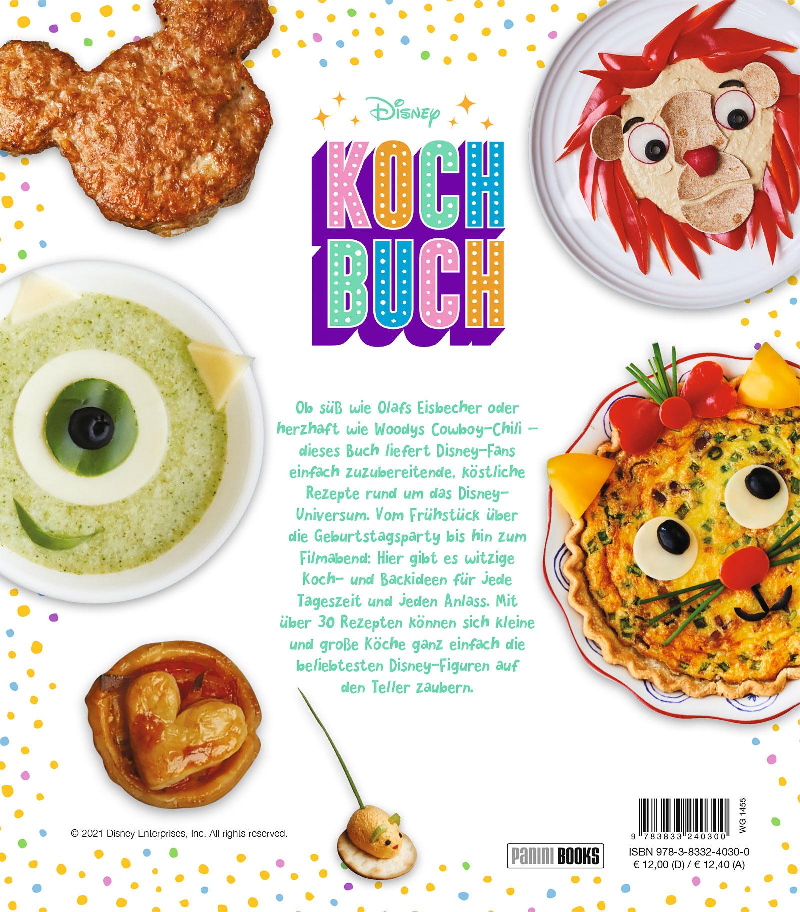 Disney Kochbuch - Gebundene Ausgabe