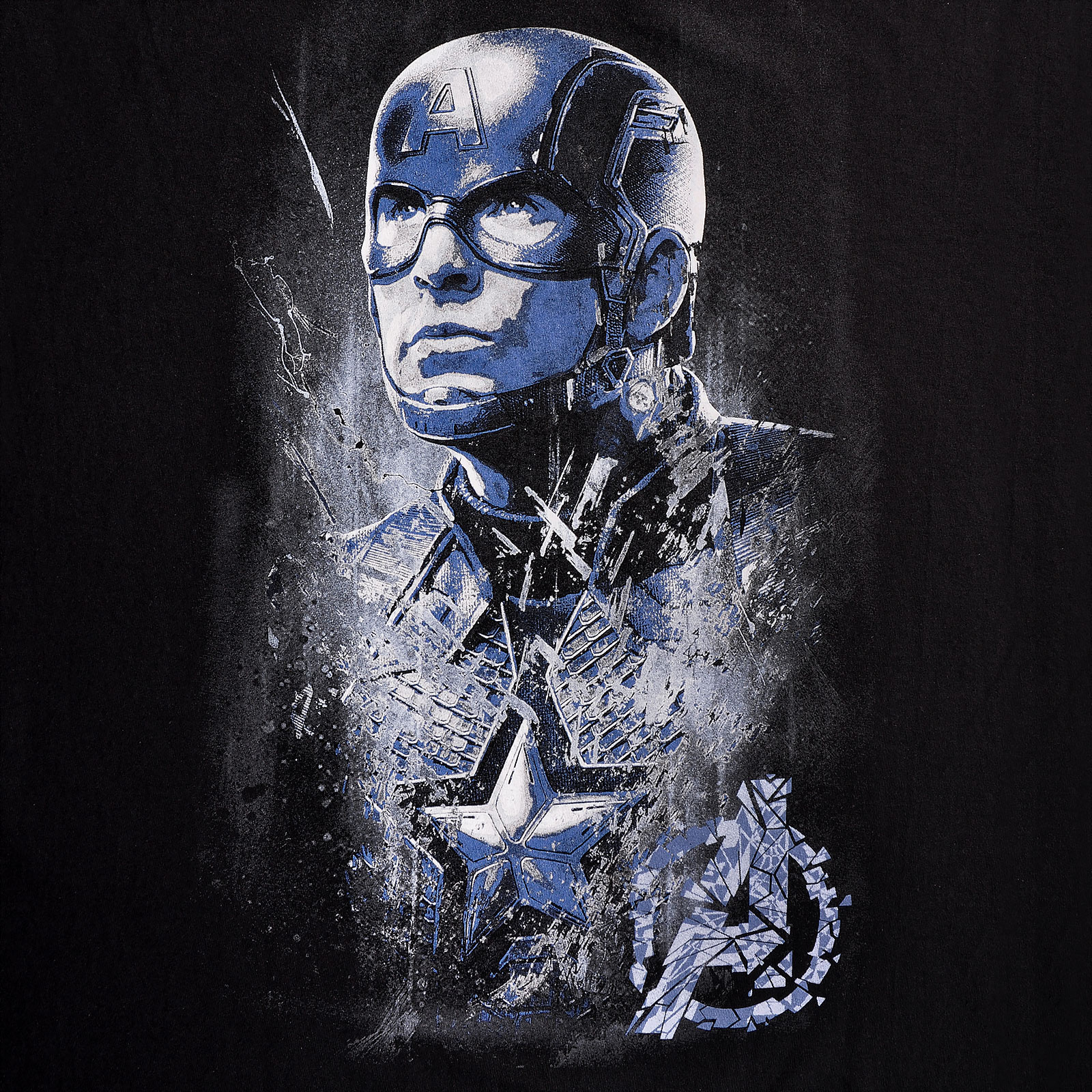 Avengers - Captain America Endgame T-Shirt schwarz
