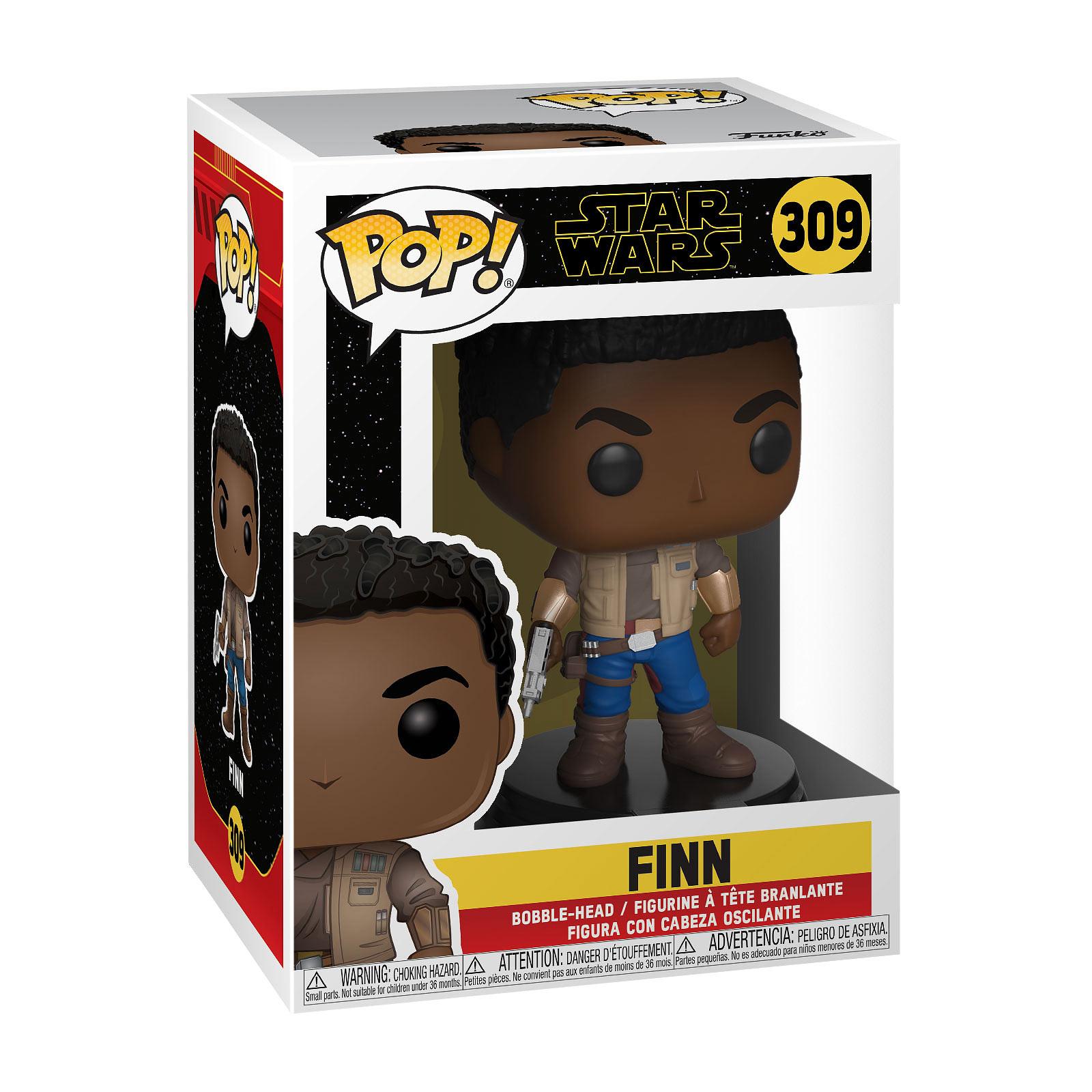 Star Wars - Finn Episode 9 Funko Pop Wackelkopf-Figur