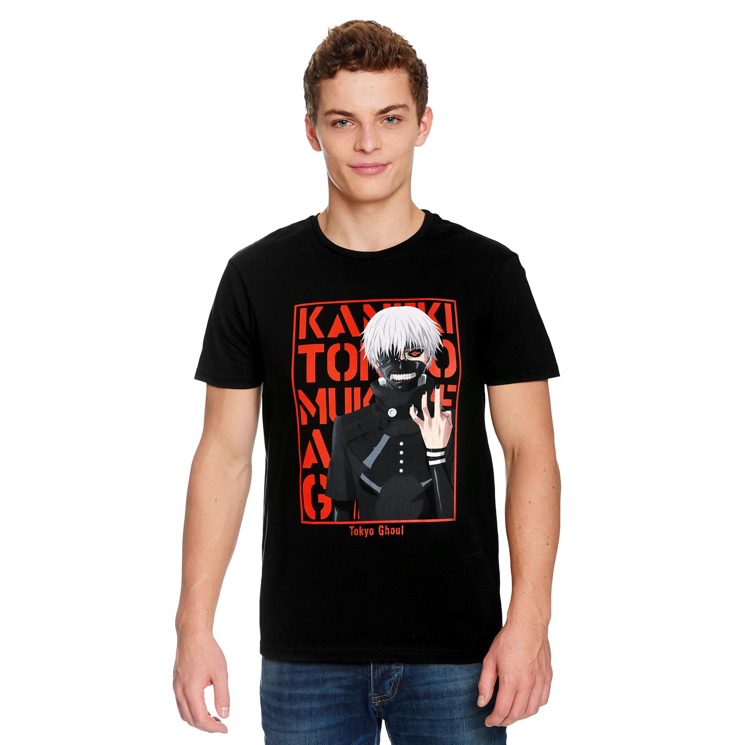 Tokyo Ghoul - Kaneki's Ready T-Shirt schwarz
