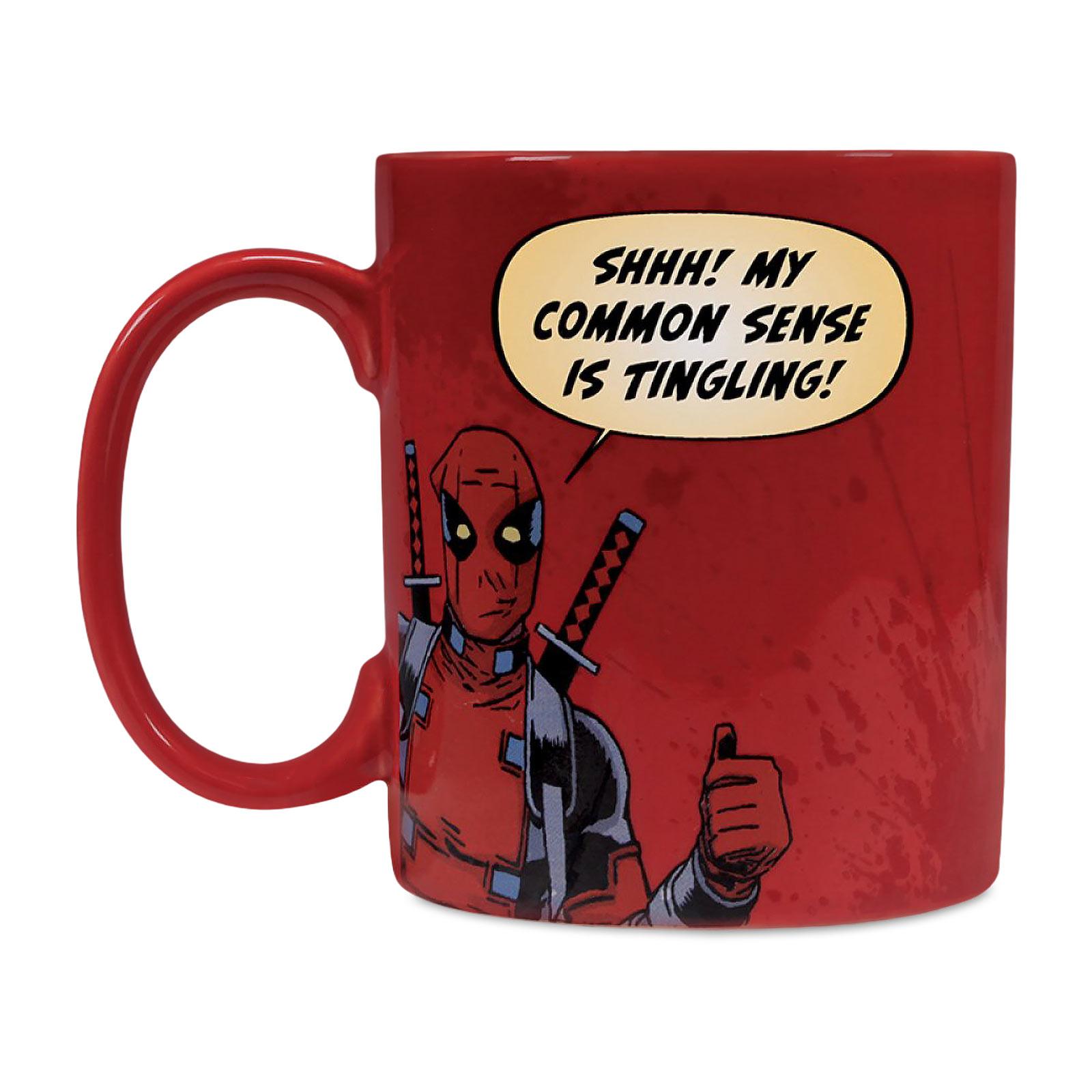 Deadpool - Holiday Greetings Tasse