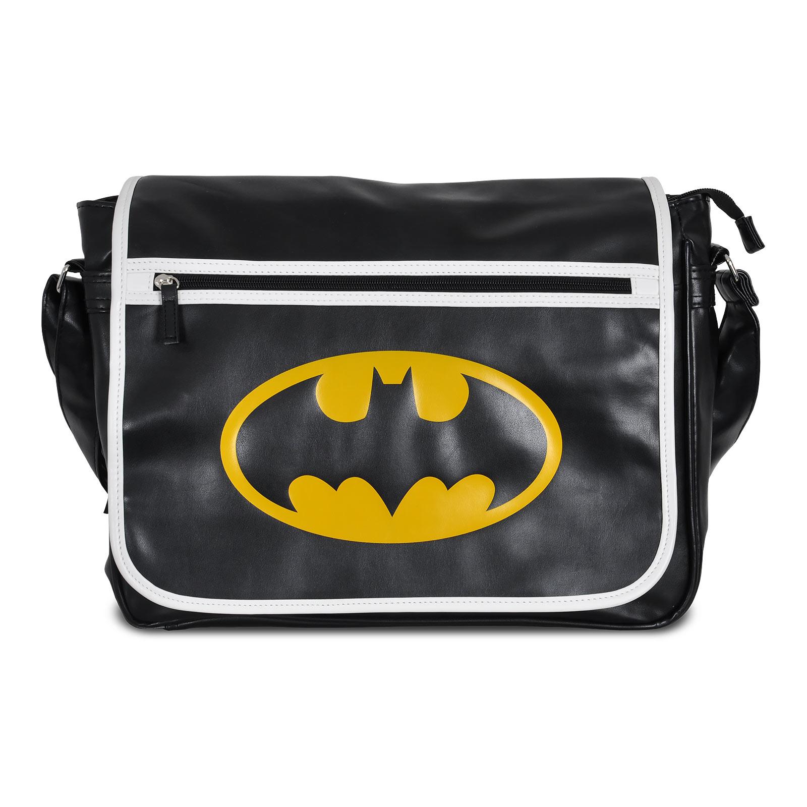 Batman - Logo Messenger Bag schwarz