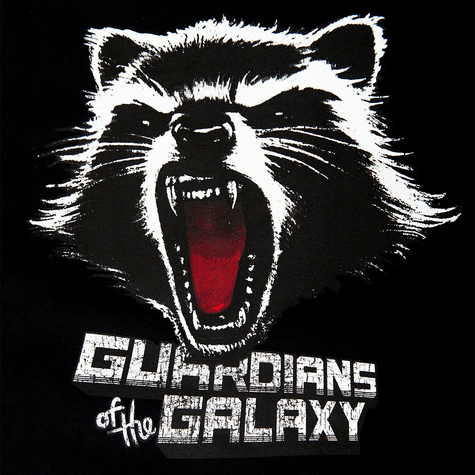 Guardians of the Galaxy - Rocket Raccoon Kapuzenjacke schwarz