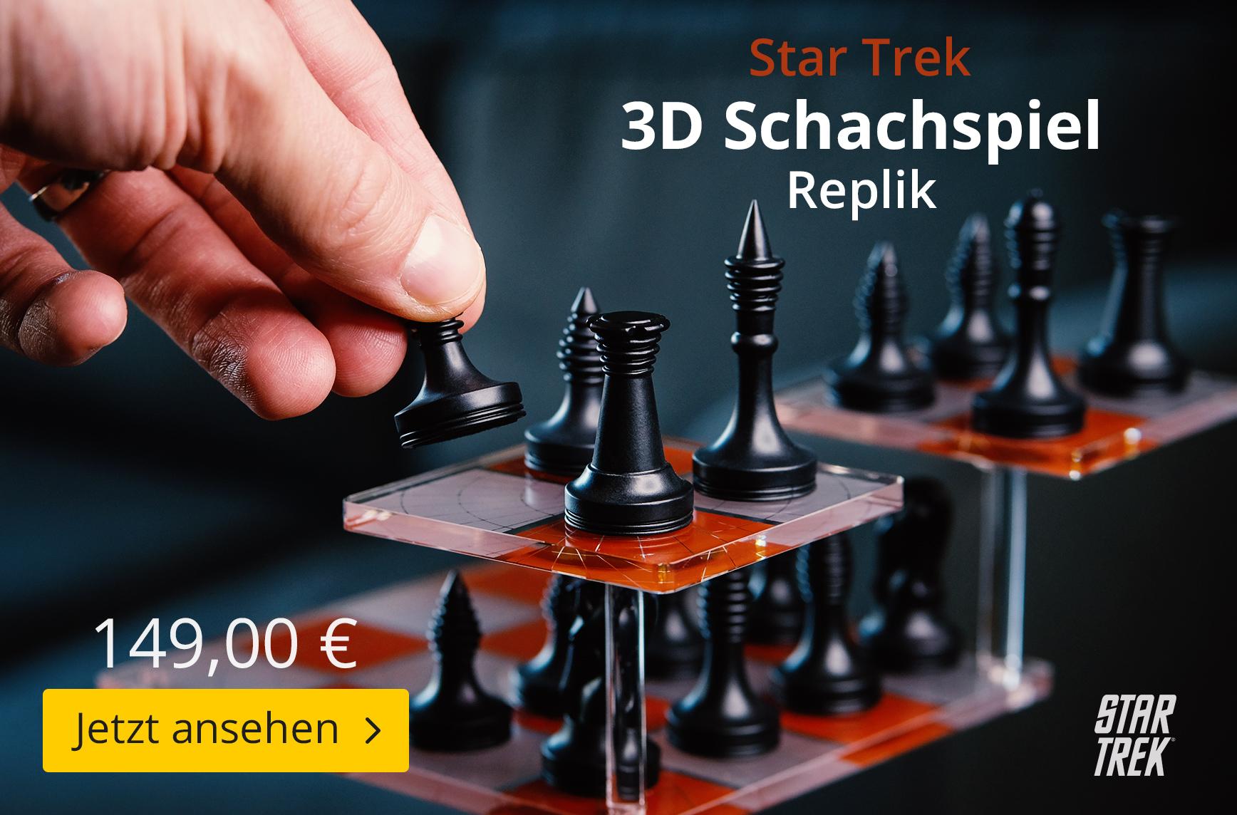 Star Trek - 3D Schachspiel Replik - 149 EUR