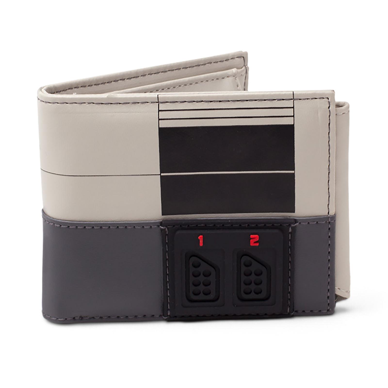 Nintendo - NES Konsole Geldbörse grau