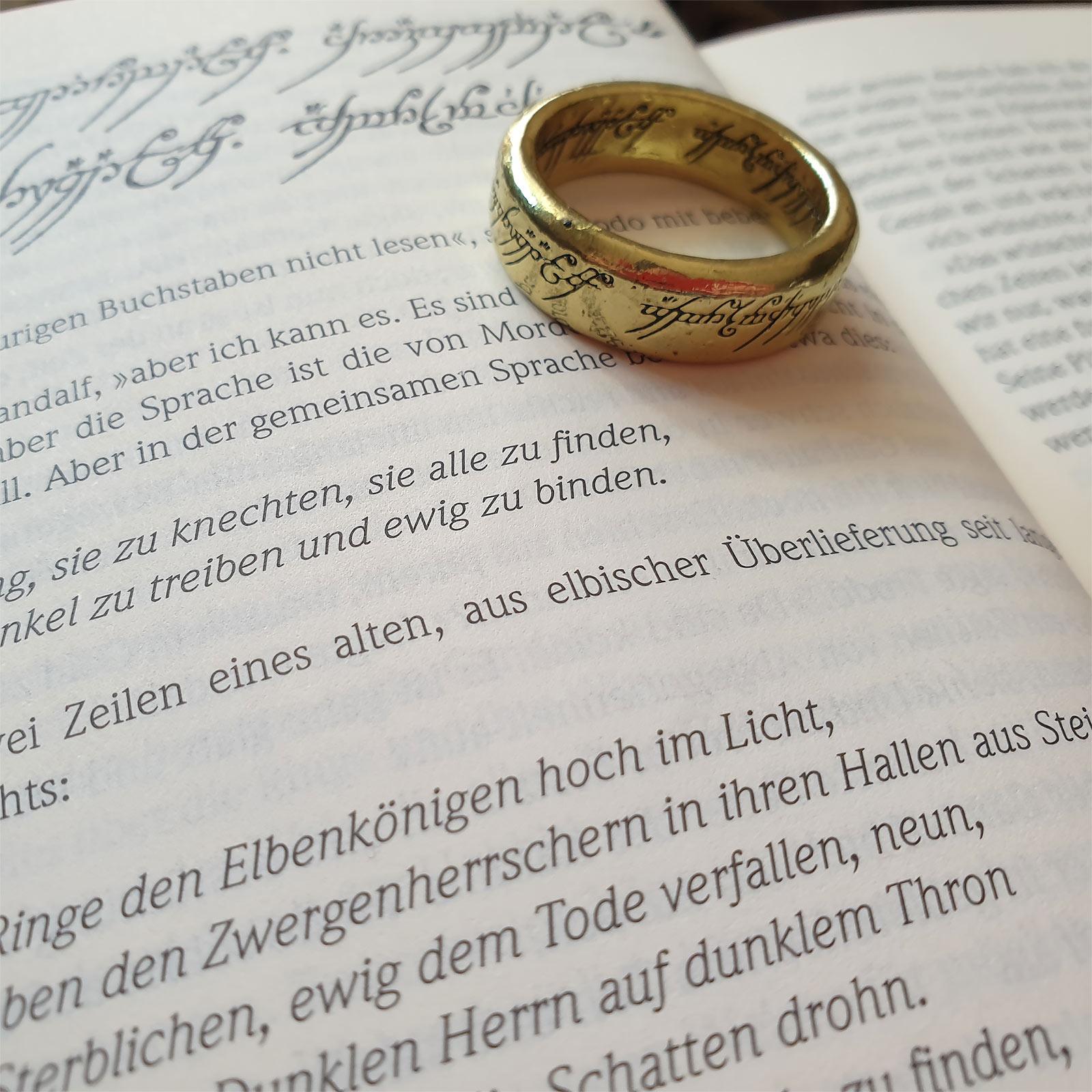 Herr der Ringe - Der Eine Ring 3D Schlüsselanhänger