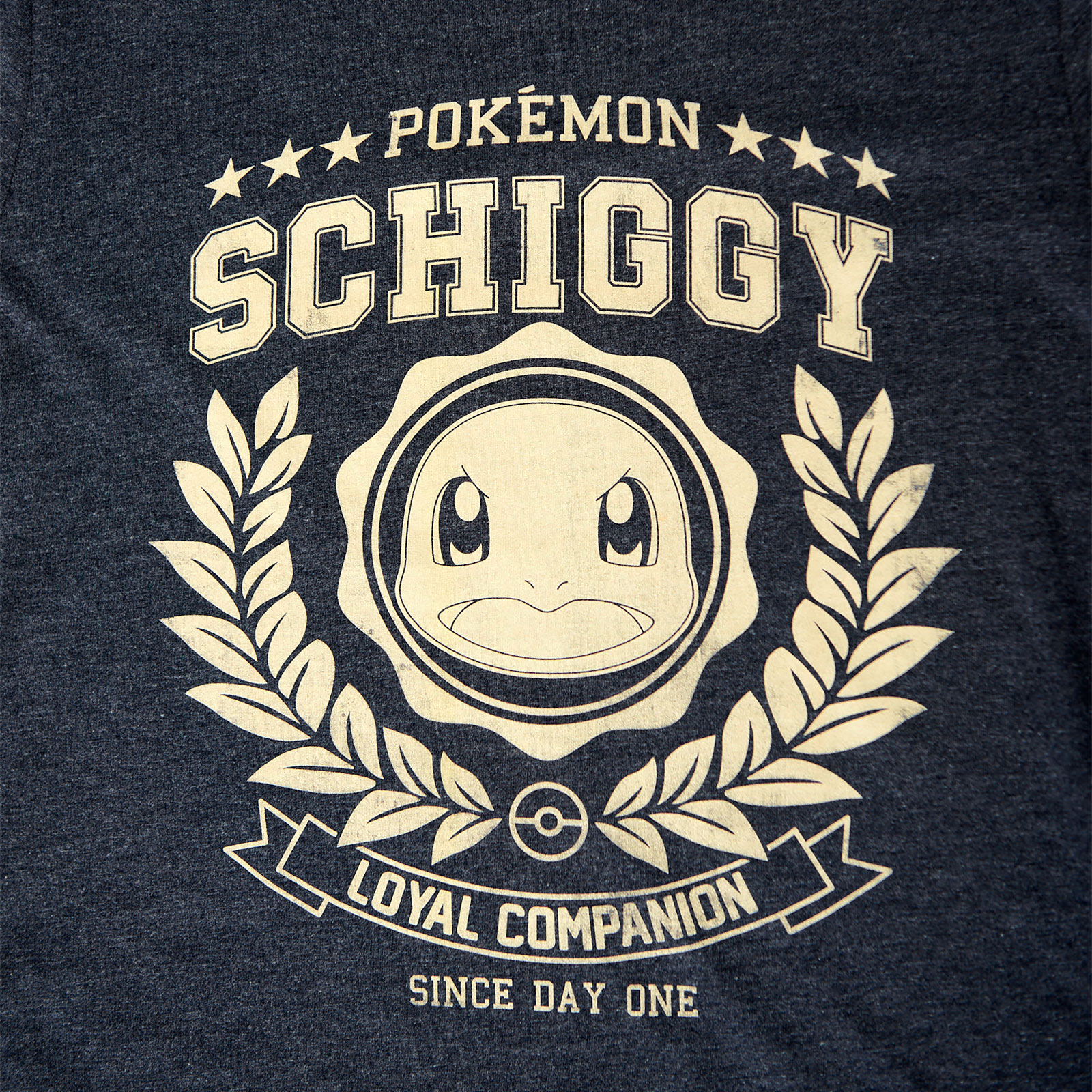 Pokemon - Schiggy Loyal Companion T-Shirt blau