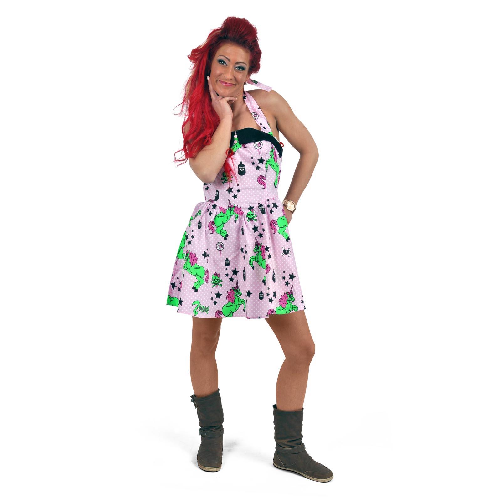 Rockabilly Mini-Kleid I Heart Zombie
